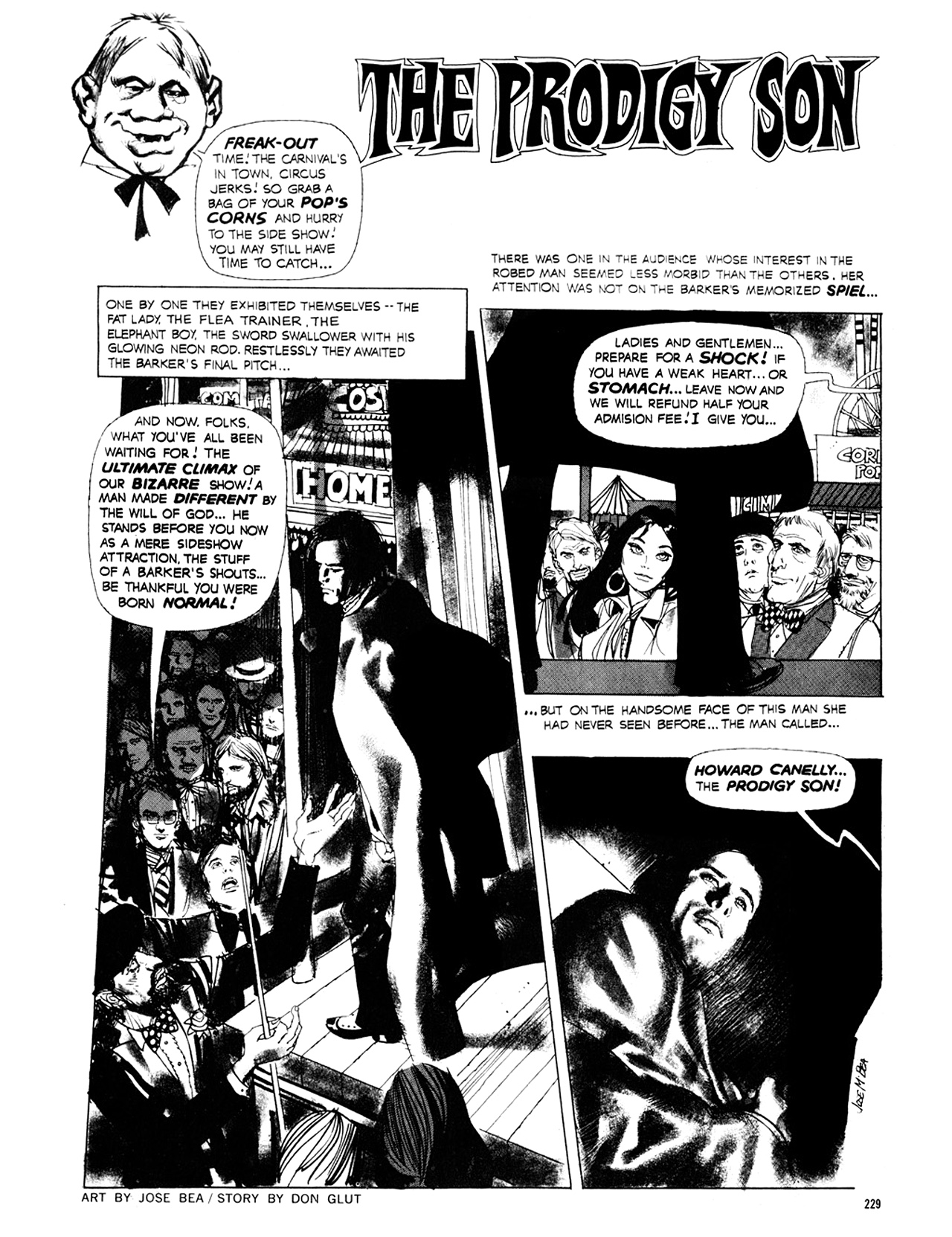Read online Eerie Archives comic -  Issue # TPB 8 - 230