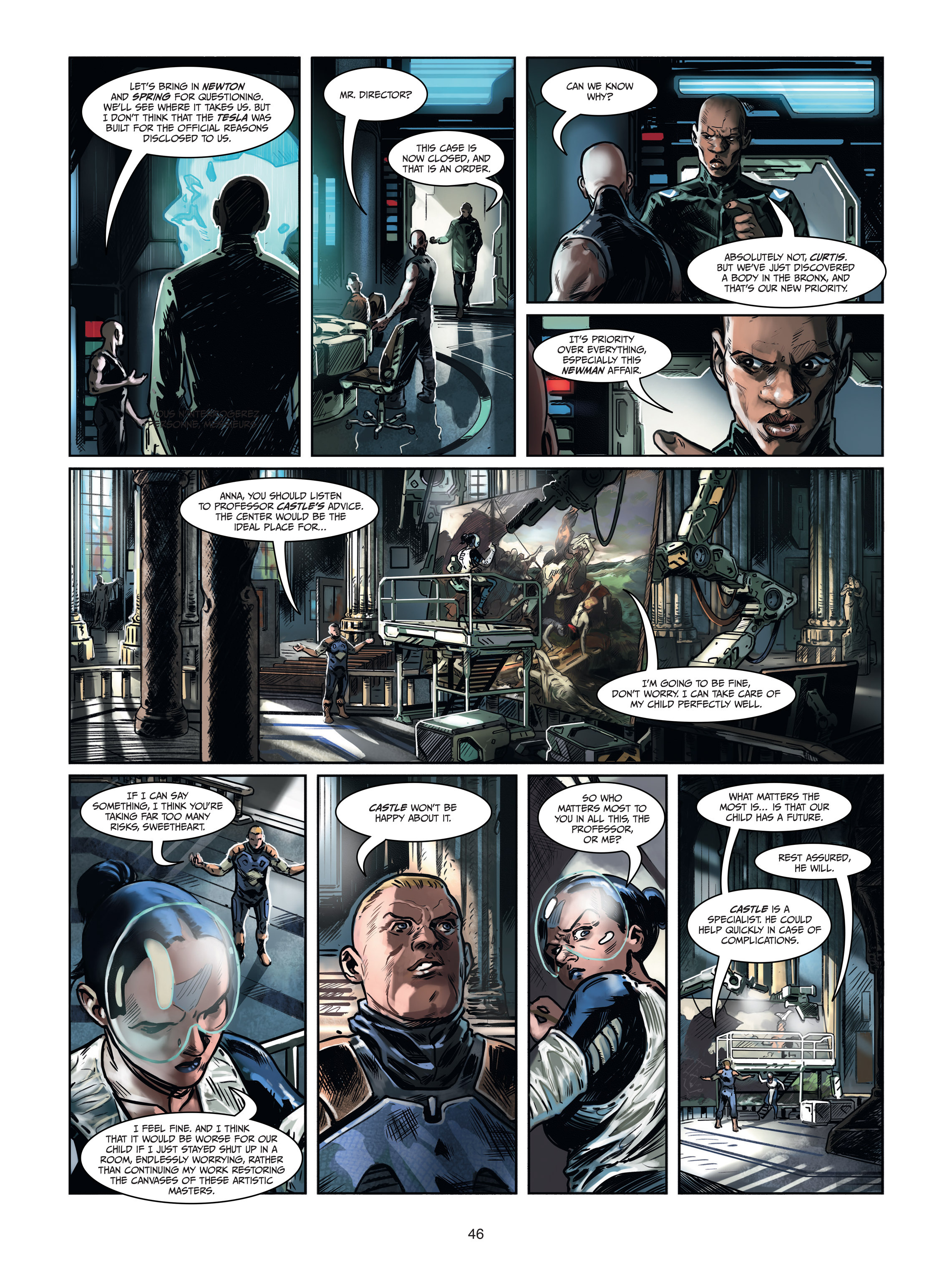 Read online Androïds comic -  Issue #1 - 44