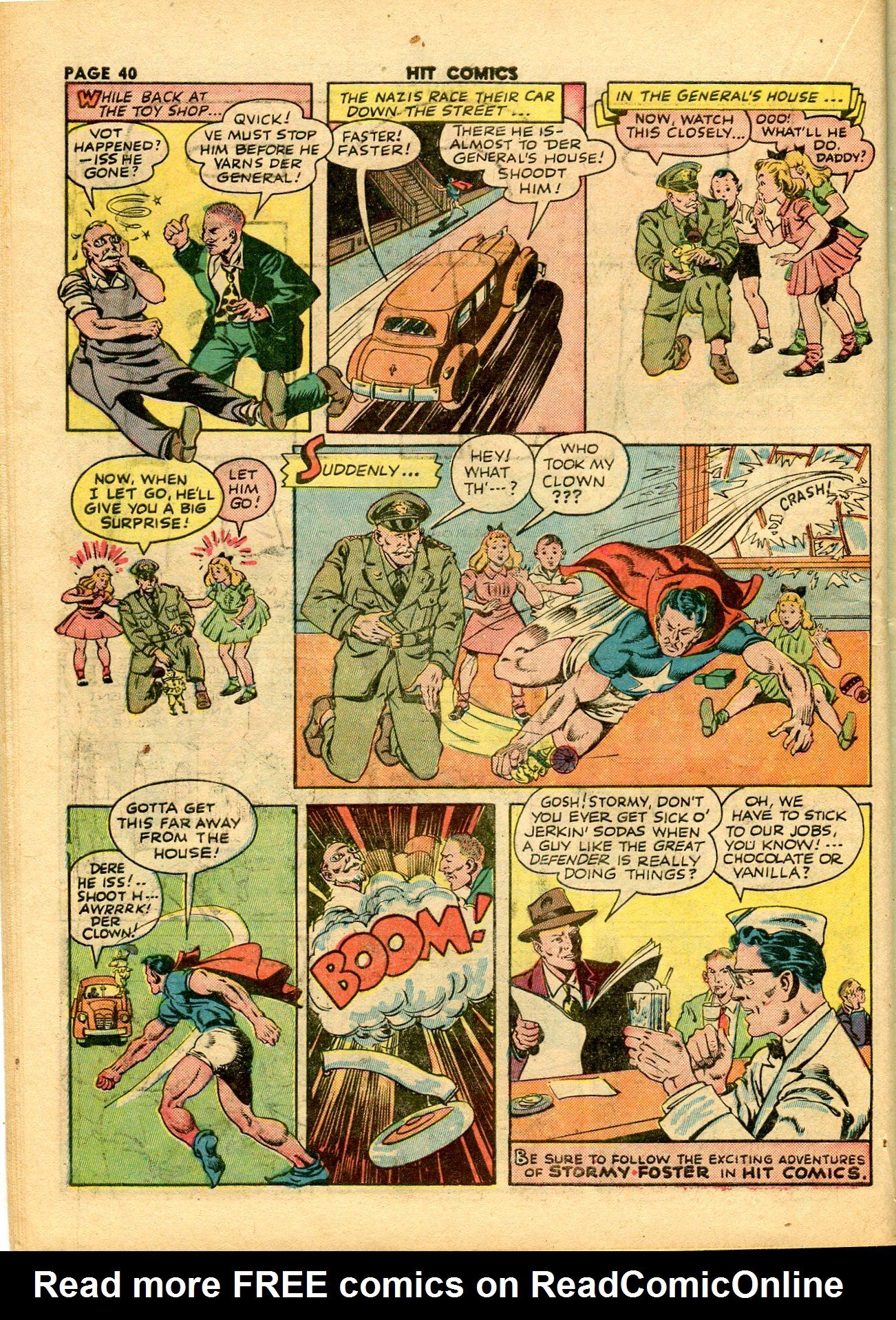 Read online Hit Comics comic -  Issue #28 - 43