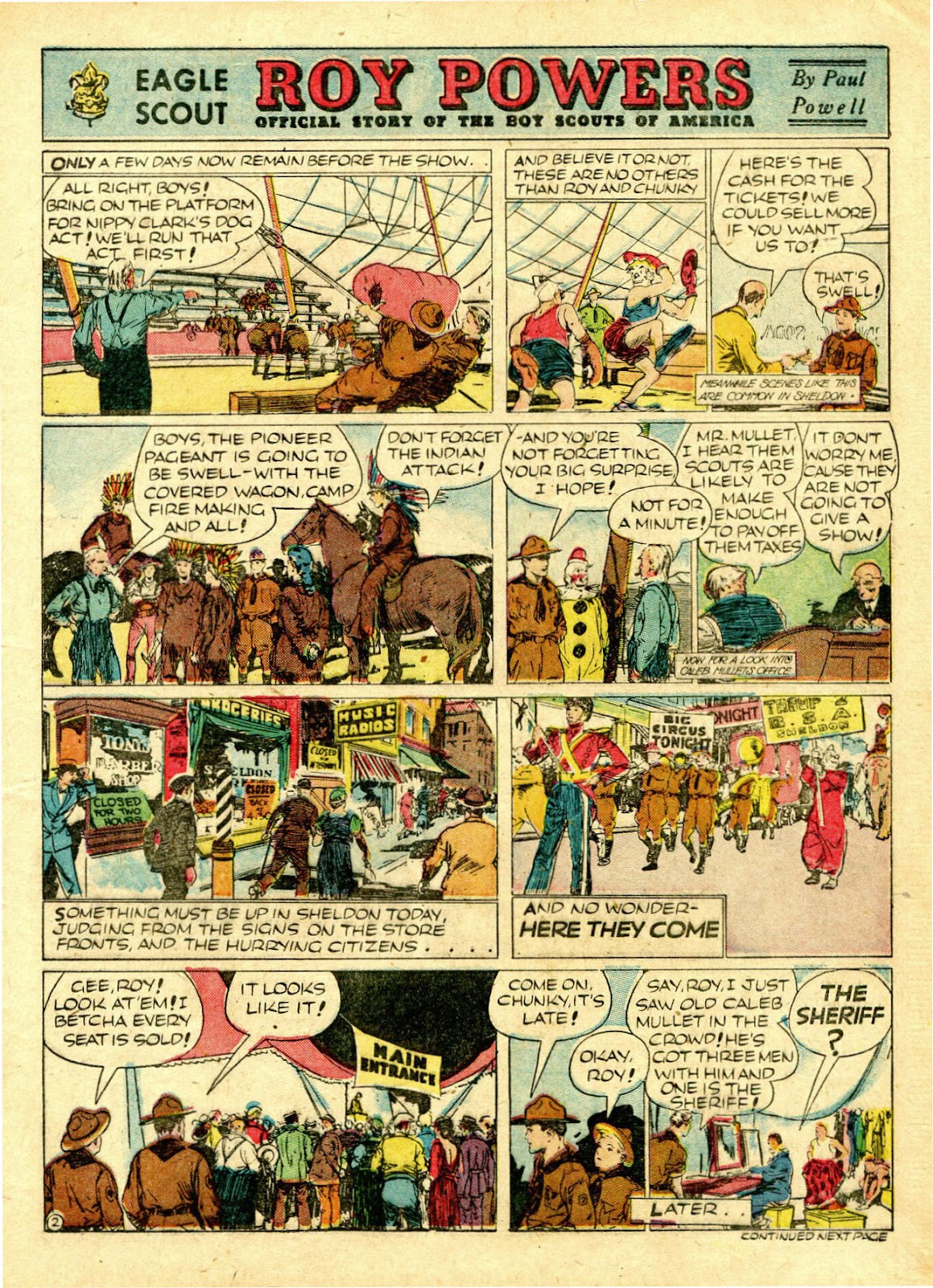 Read online Famous Funnies comic -  Issue #63 - 6
