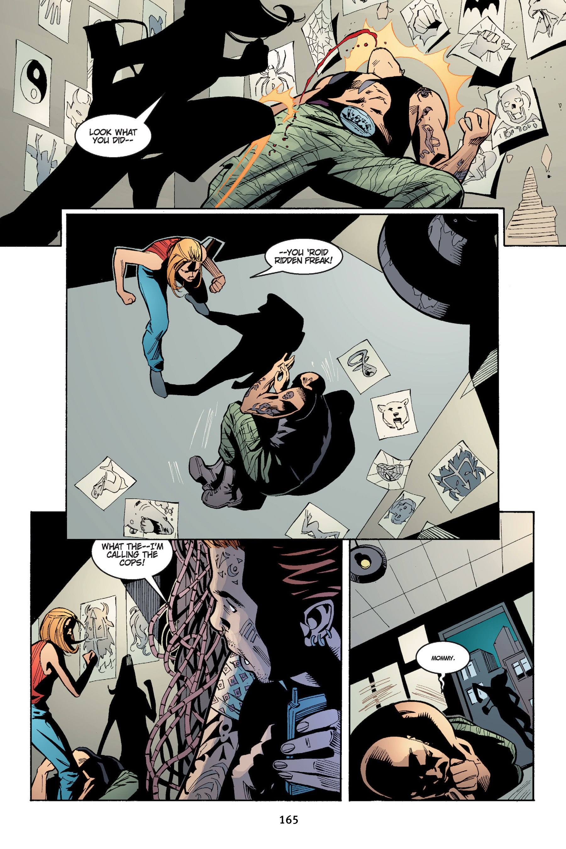 Read online Buffy the Vampire Slayer: Omnibus comic -  Issue # TPB 4 - 166