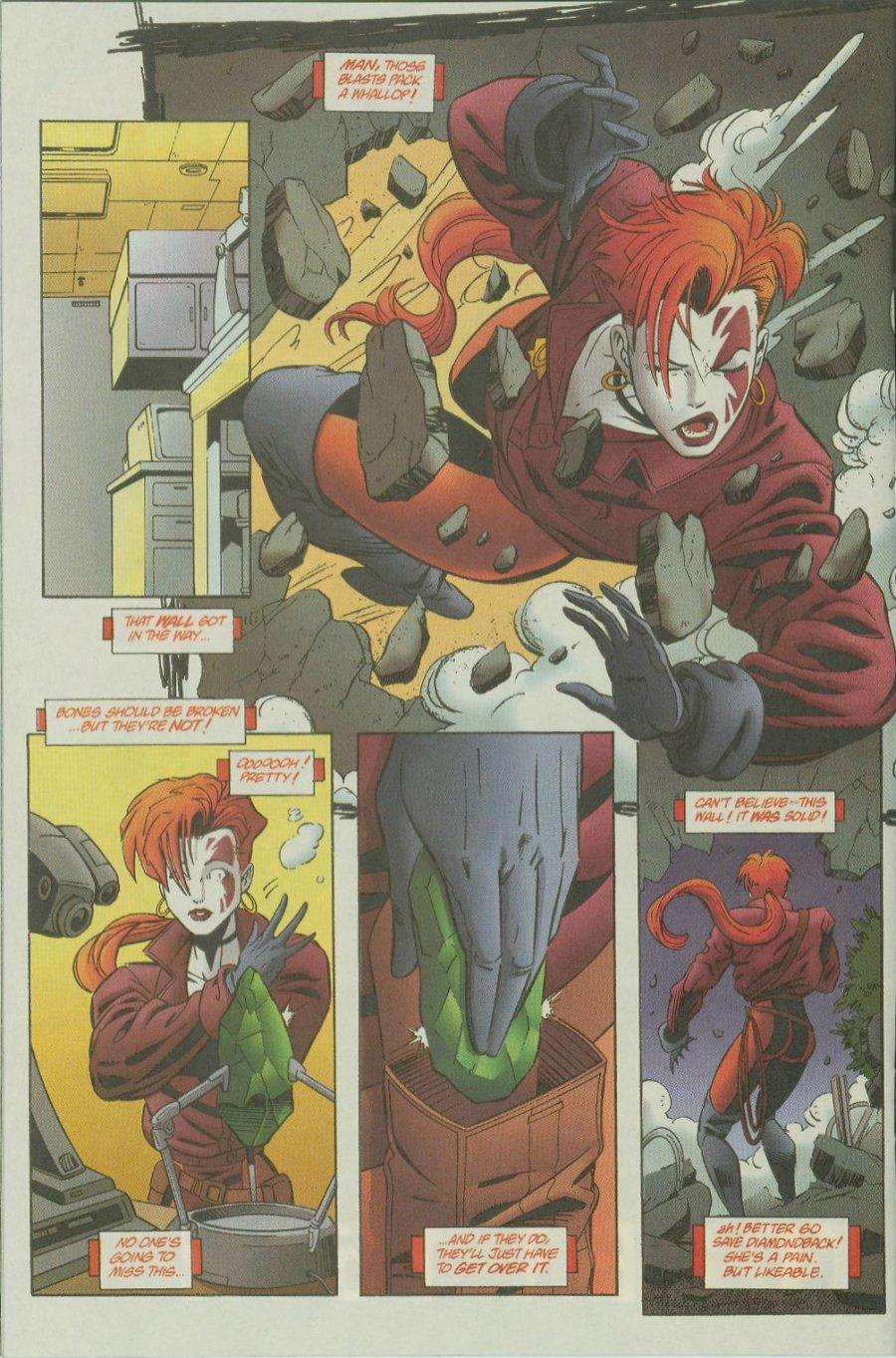 Read online Siren comic -  Issue #1 - 19