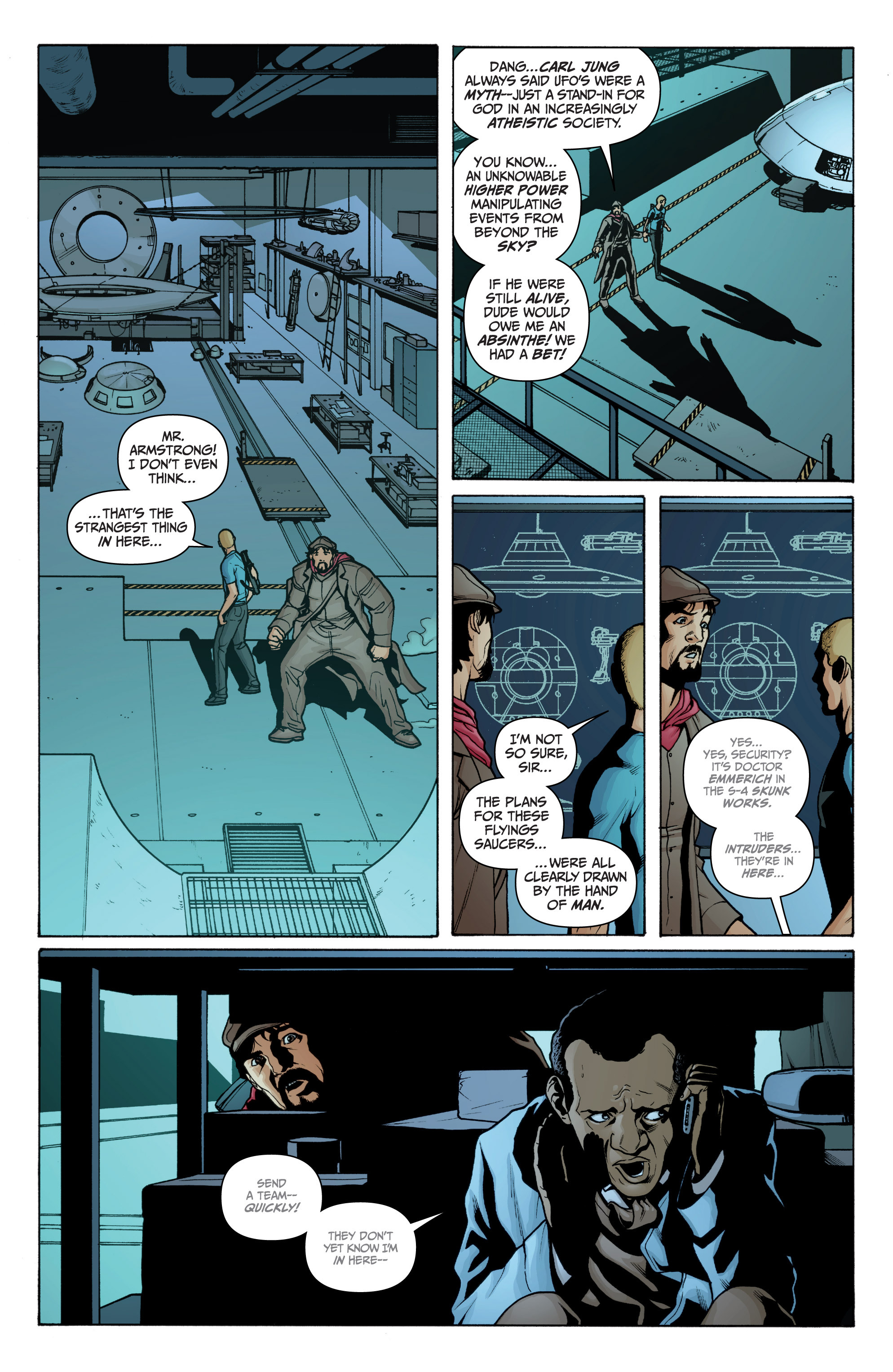Read online Archer and Armstrong comic -  Issue #Archer and Armstrong _TPB 3 - 44