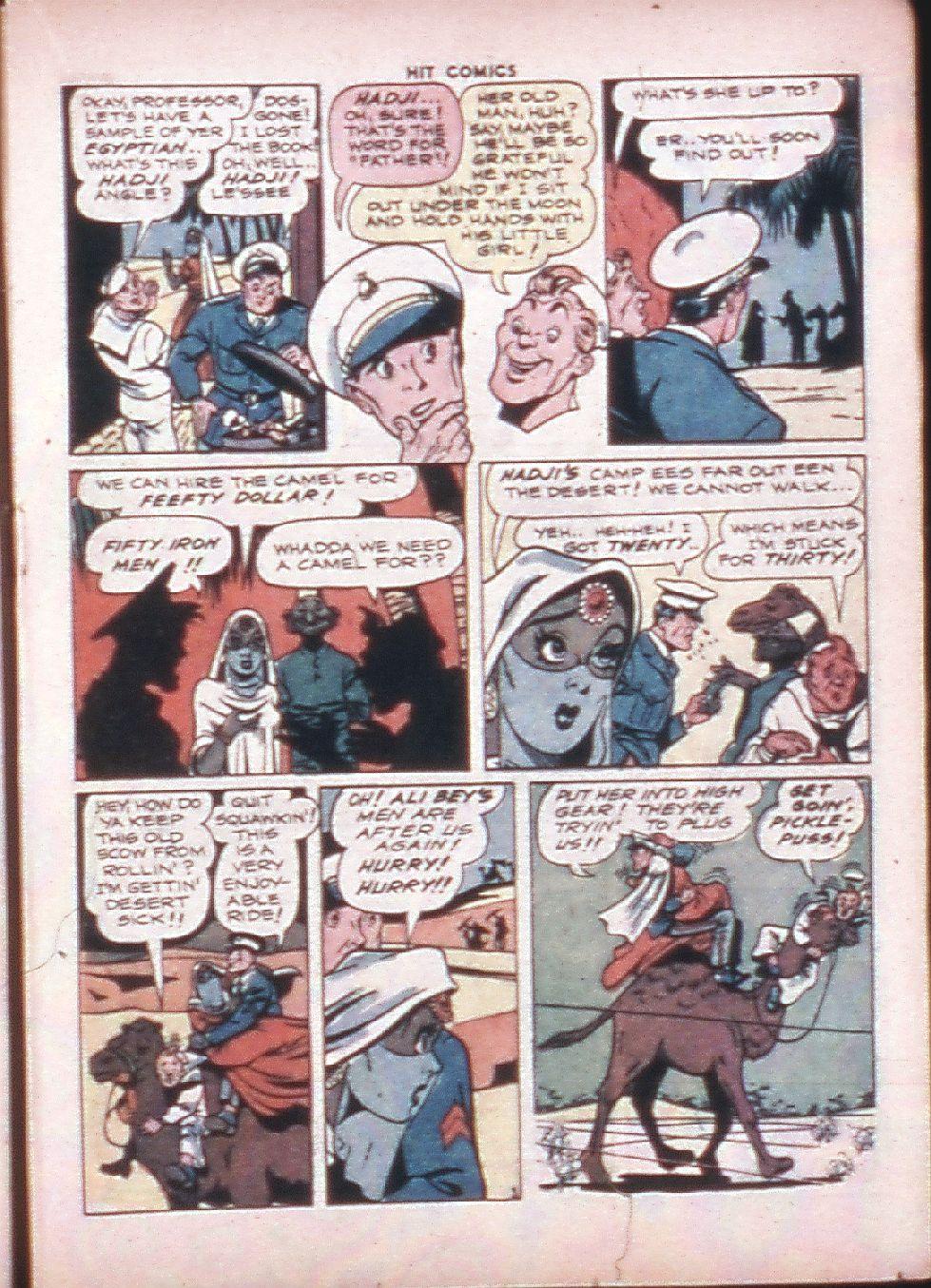 Read online Hit Comics comic -  Issue #33 - 26