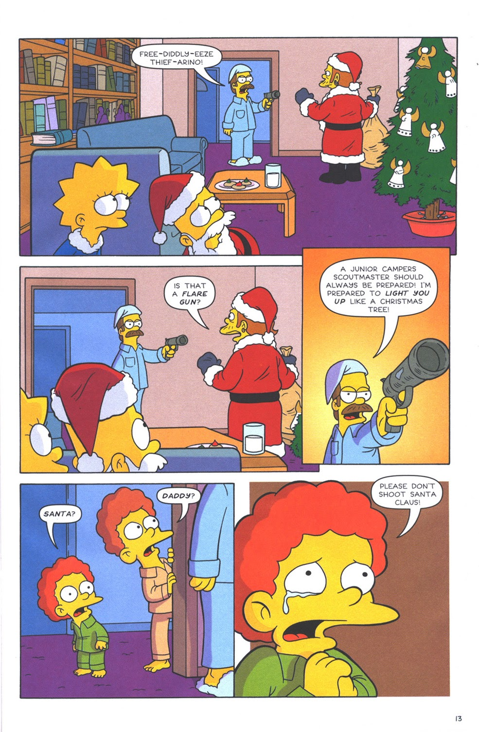 Read online The Simpsons Winter Wingding comic -  Issue #3 - 15