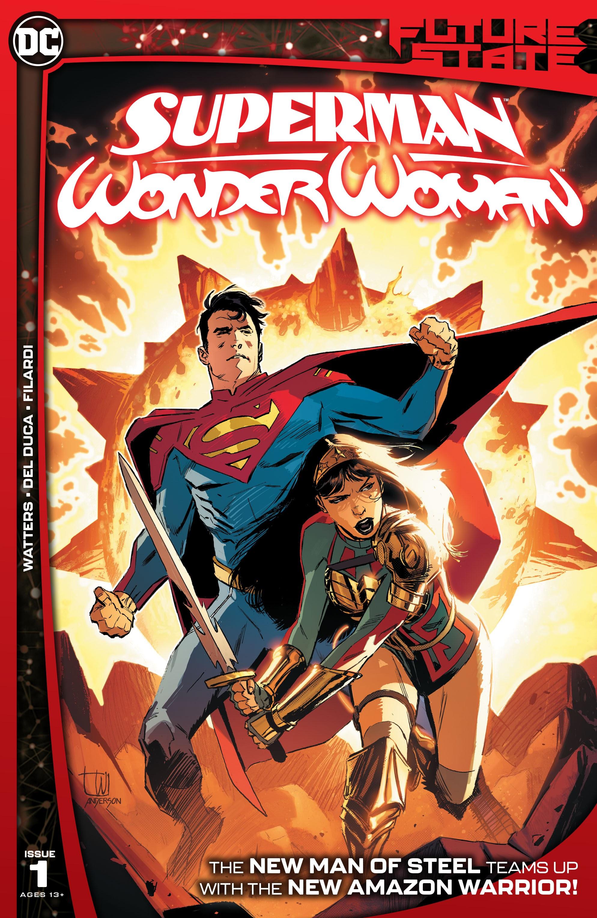 Future State: Superman/Wonder Woman 1 Page 1