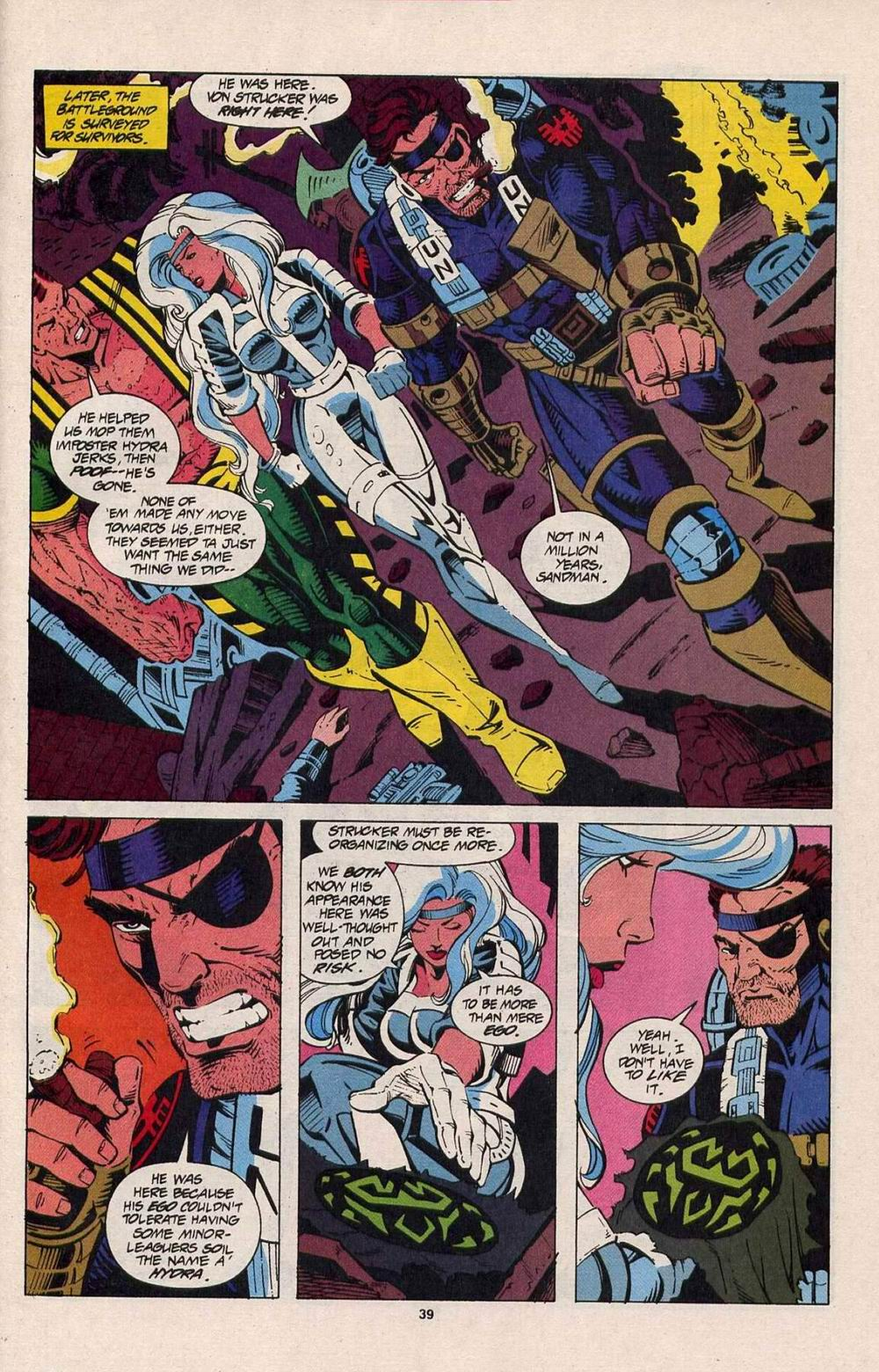 Read online Silver Sable and the Wild Pack comic -  Issue #25 - 32