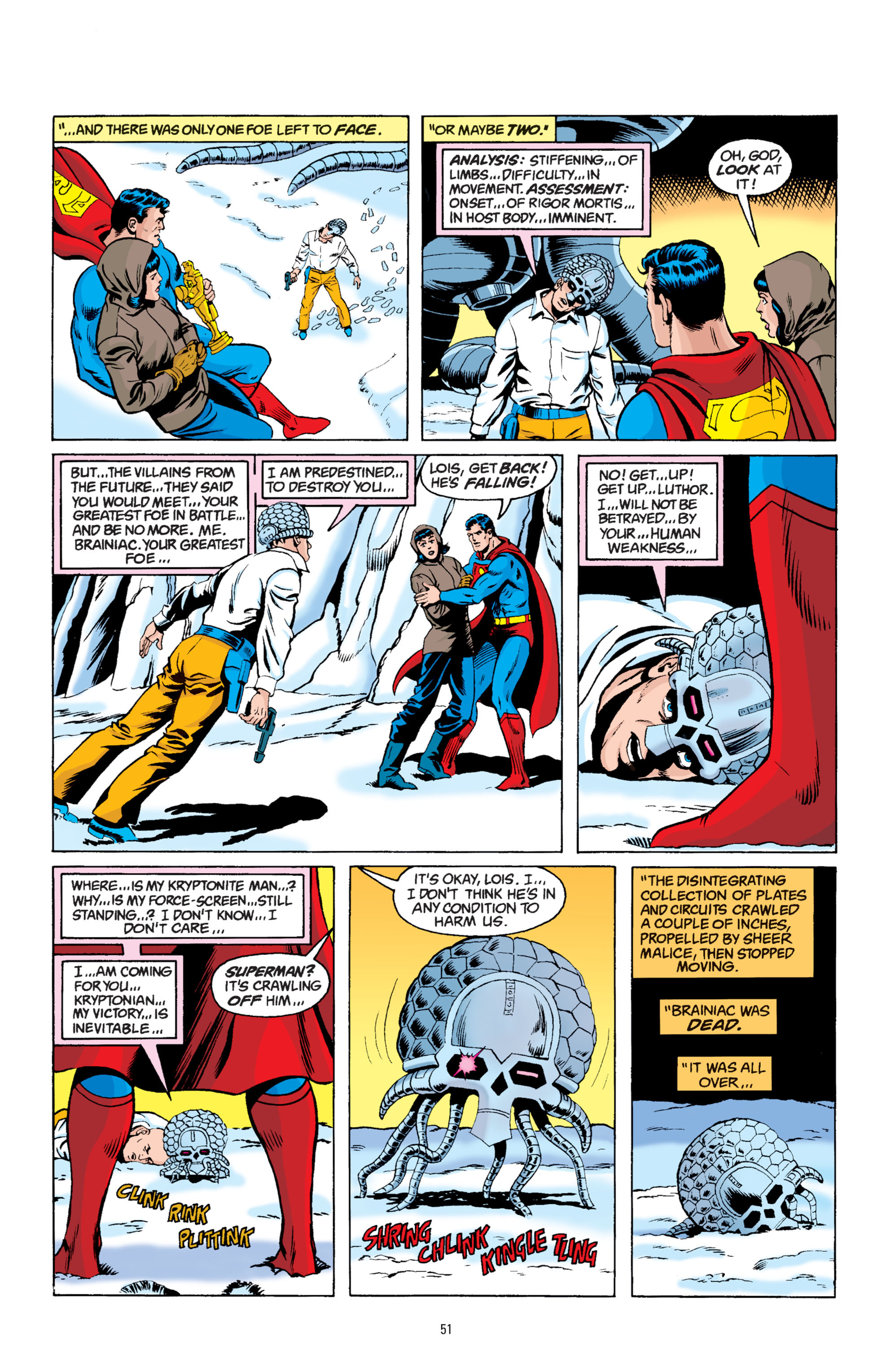 Read online Superman: Whatever Happened to the Man of Tomorrow? comic -  Issue # TPB - 50