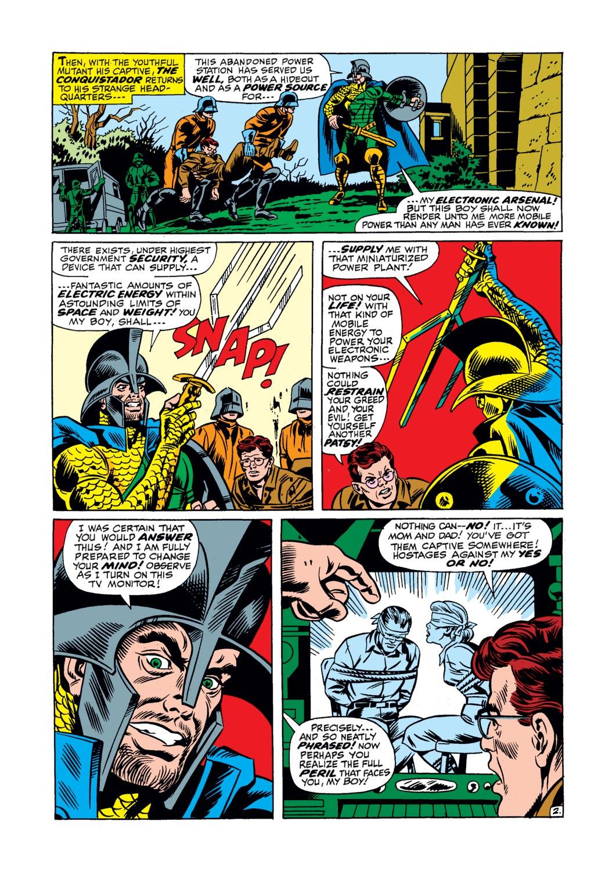 Read online Amazing Adventures (1970) comic -  Issue #17 - 20