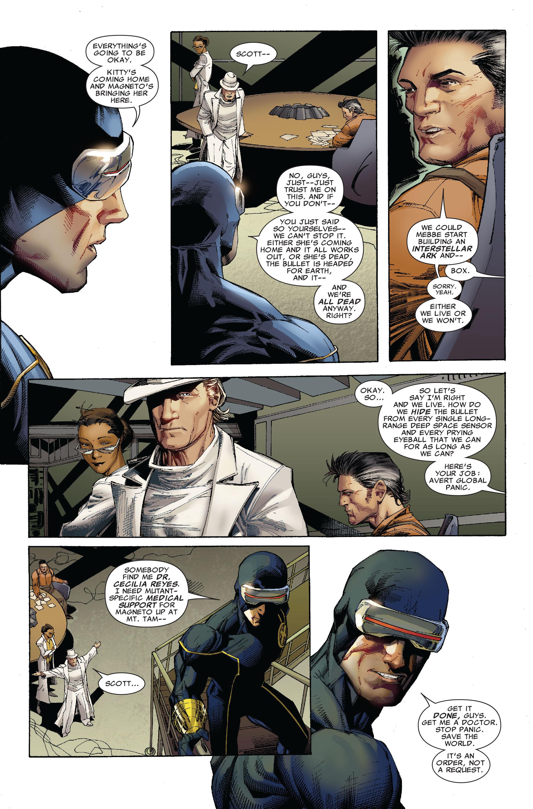 Read online Uncanny X-Men (1963) comic -  Issue #522 - 9