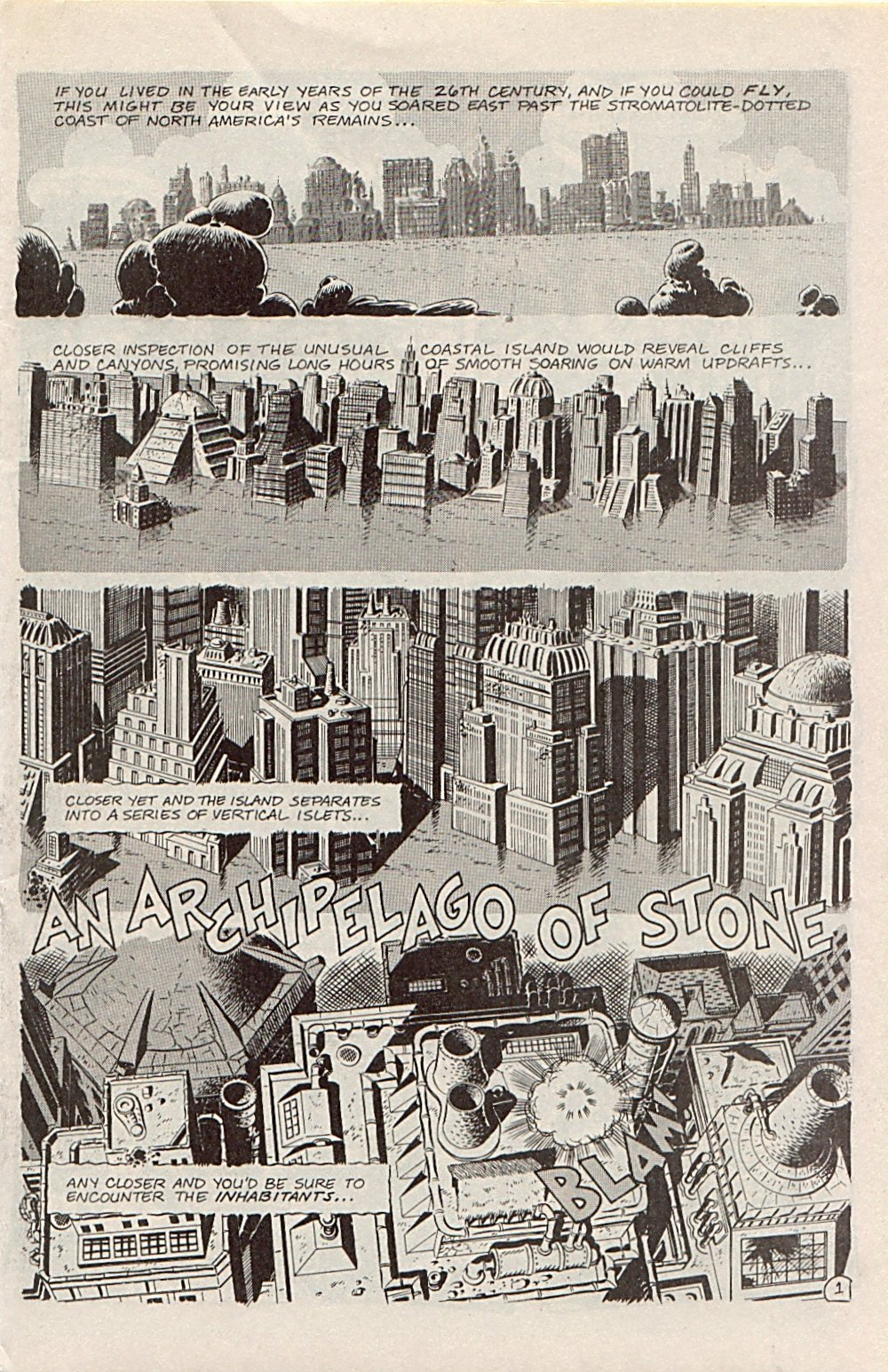 Read online Xenozoic Tales comic -  Issue #1 - 4