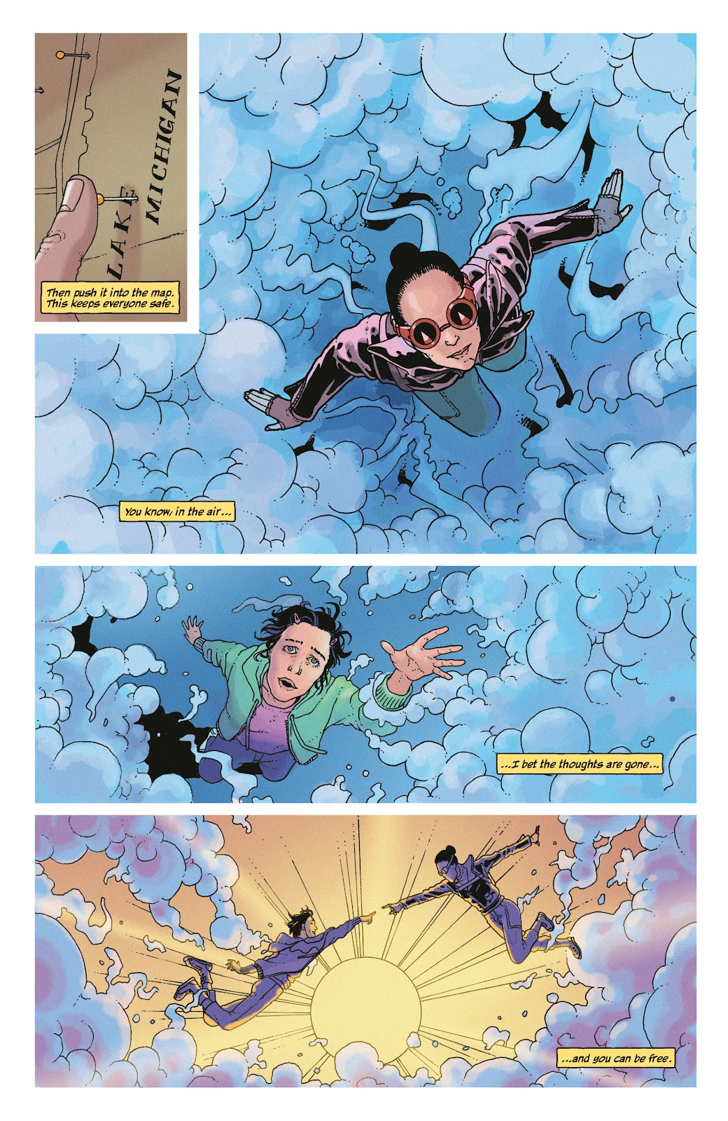 Read online She Could Fly comic -  Issue # _TPB - 18