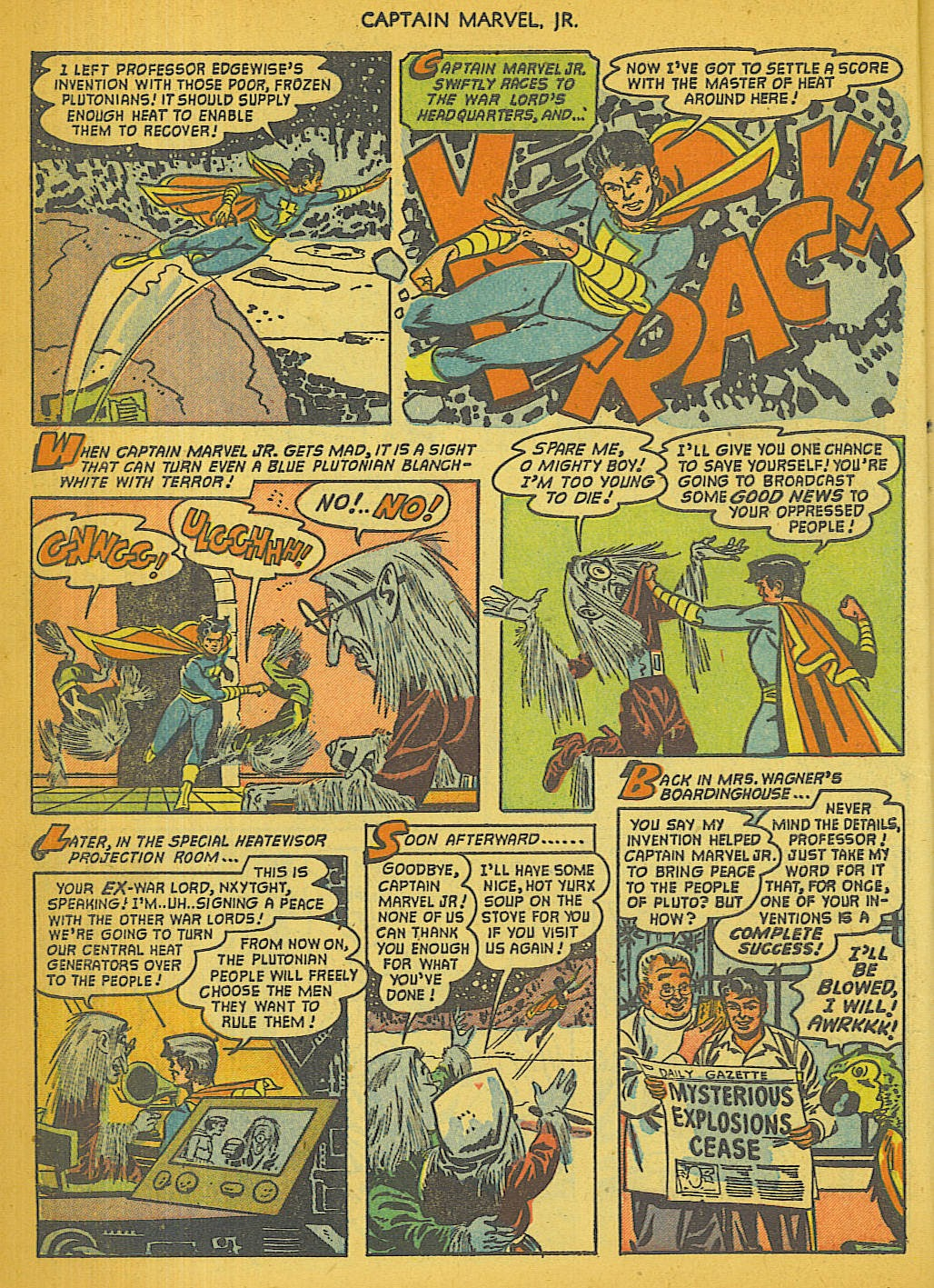 Captain Marvel, Jr. issue 111 - Page 9