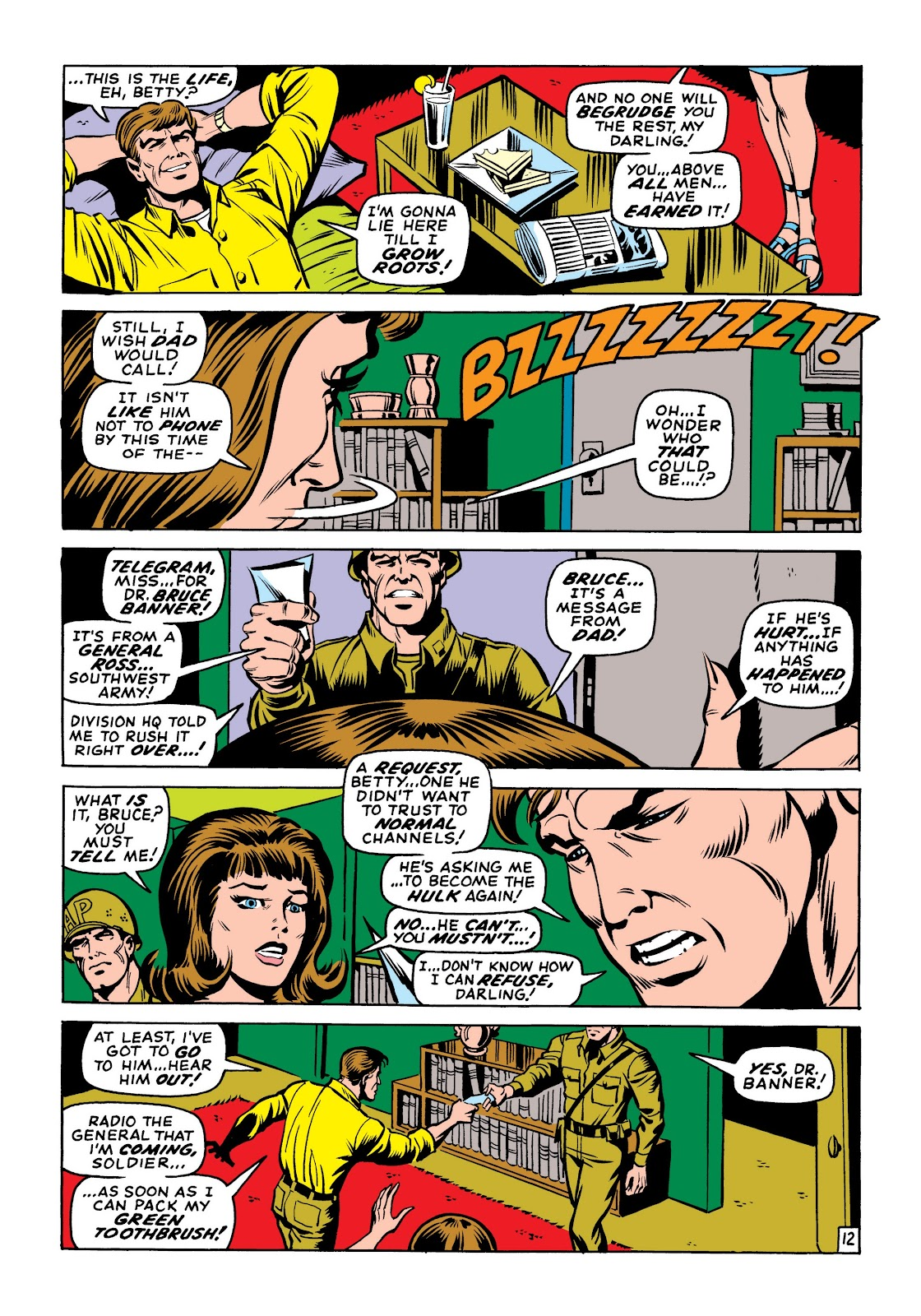Read online Marvel Masterworks: The Incredible Hulk comic -  Issue # TPB 6 (Part 1) - 42