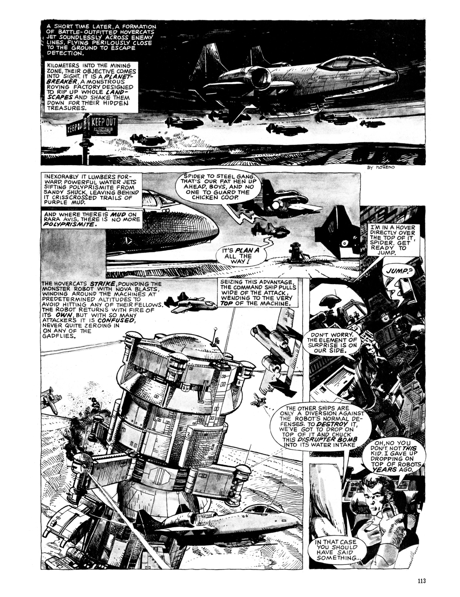 Read online Eerie Archives comic -  Issue # TPB 20 - 113