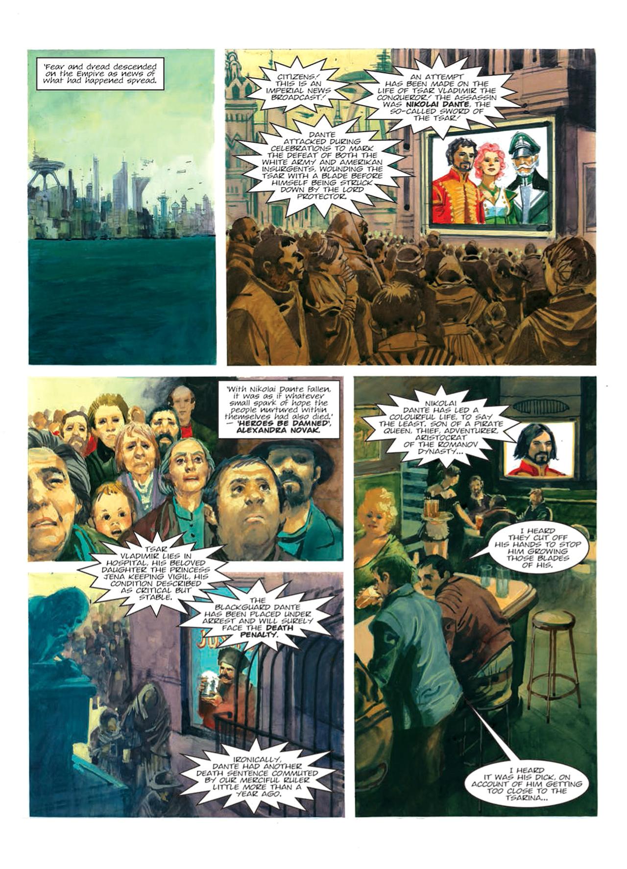 Read online Nikolai Dante comic -  Issue # TPB 9 - 74