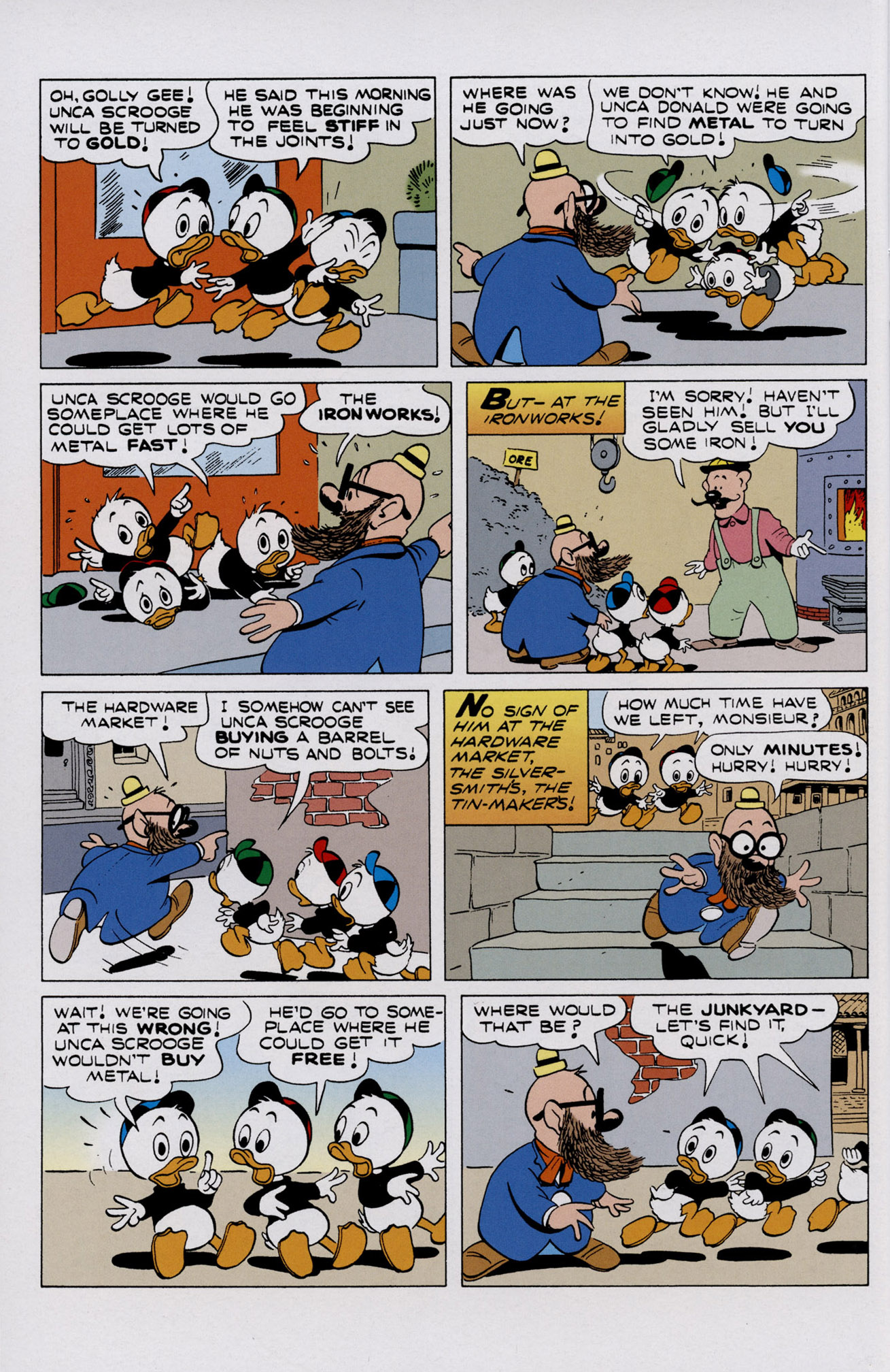 Read online Uncle Scrooge (1953) comic -  Issue #402 - 24