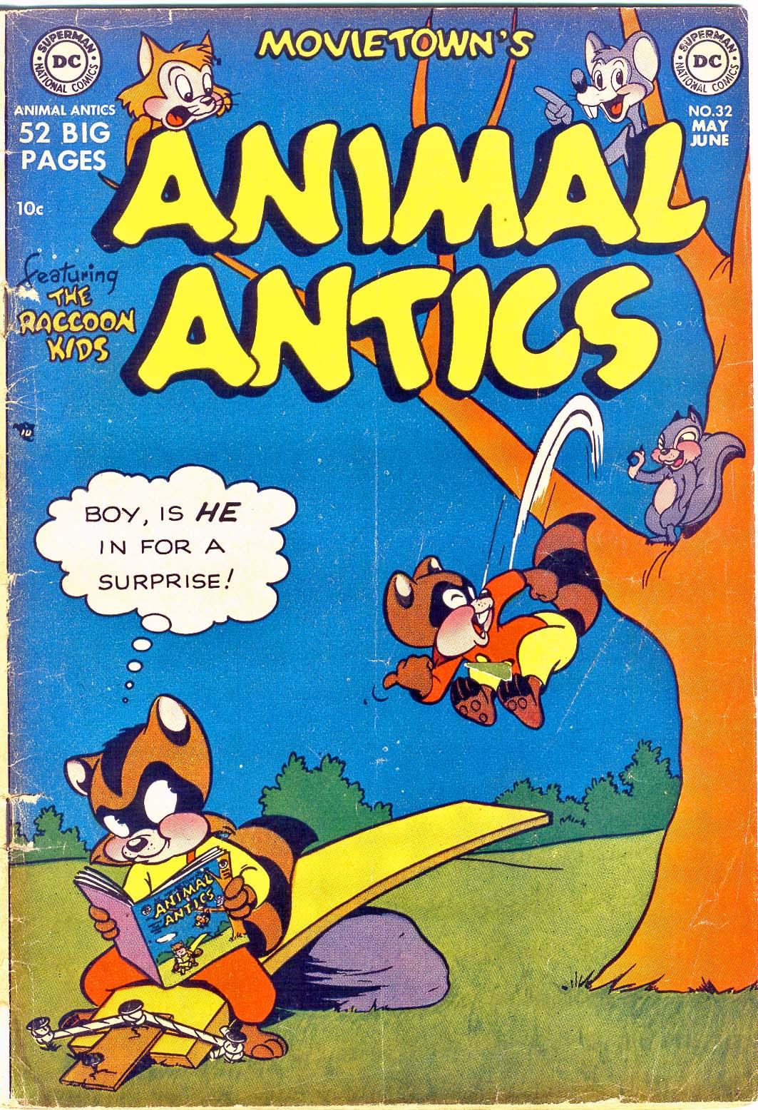 Read online Animal Antics comic -  Issue #32 - 1