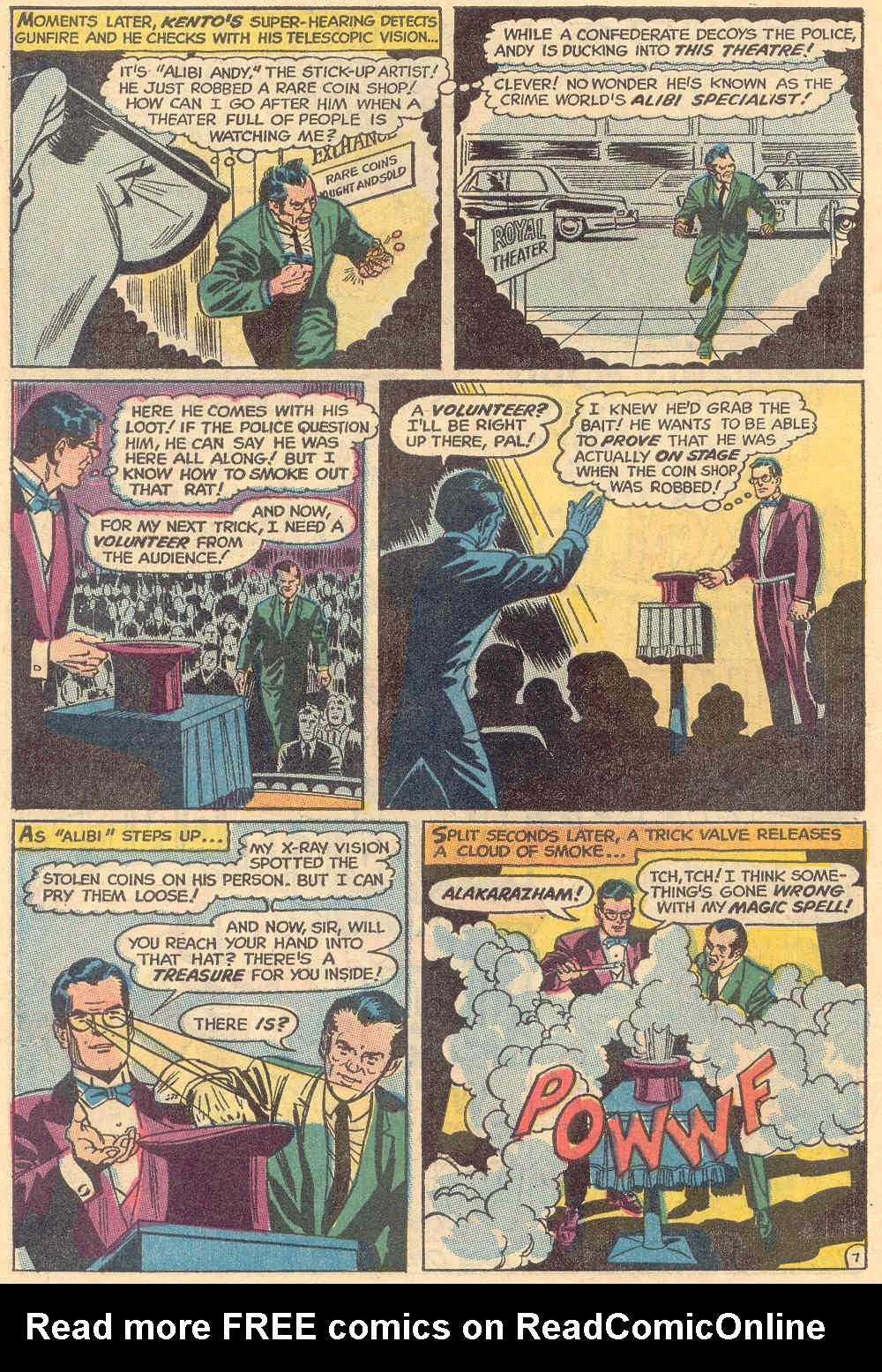 Read online Action Comics (1938) comic -  Issue #382 - 10