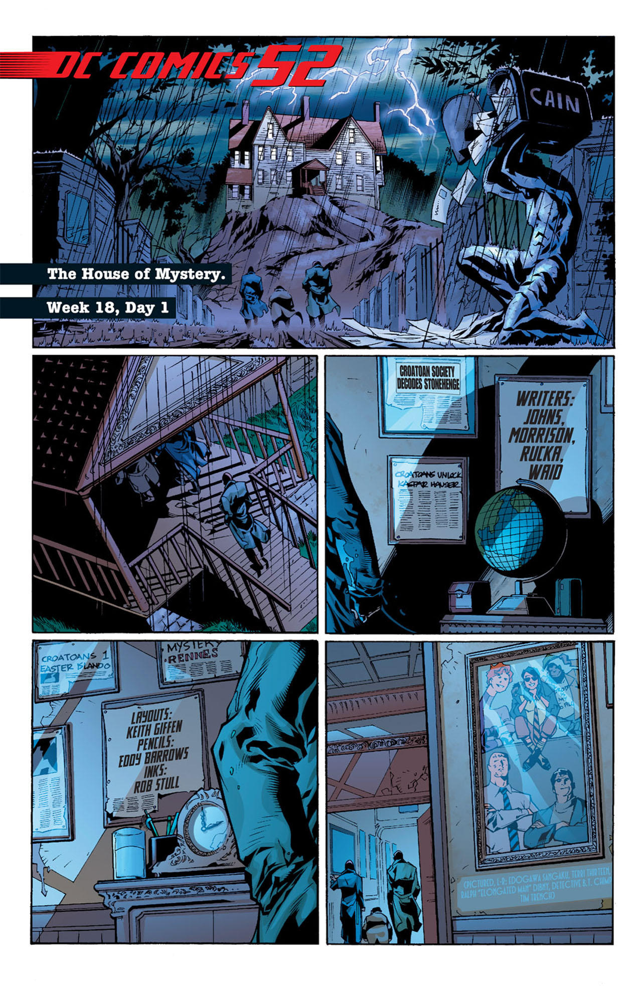Read online 52 comic -  Issue #18 - 3