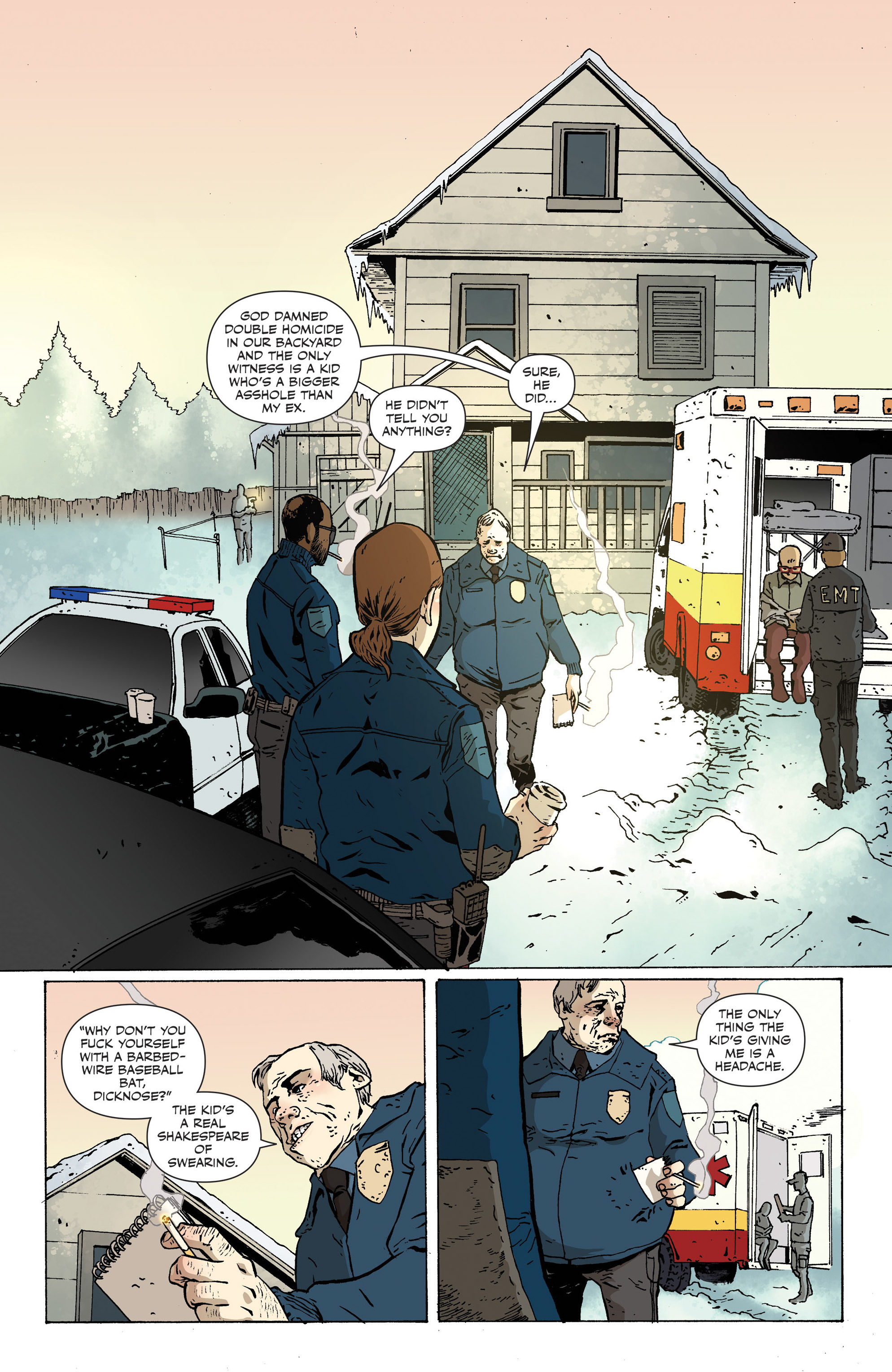 Read online Sheltered comic -  Issue #12 - 4