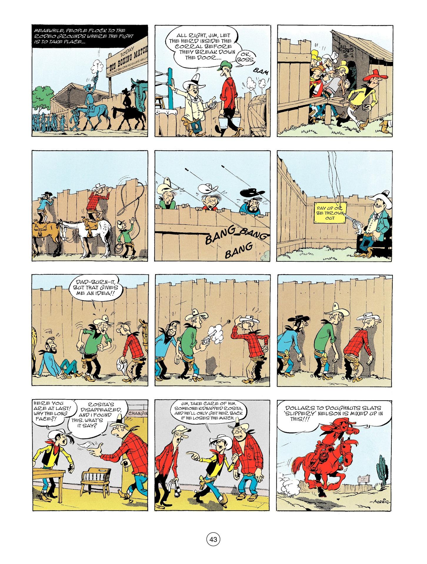 Read online A Lucky Luke Adventure comic -  Issue #56 - 43