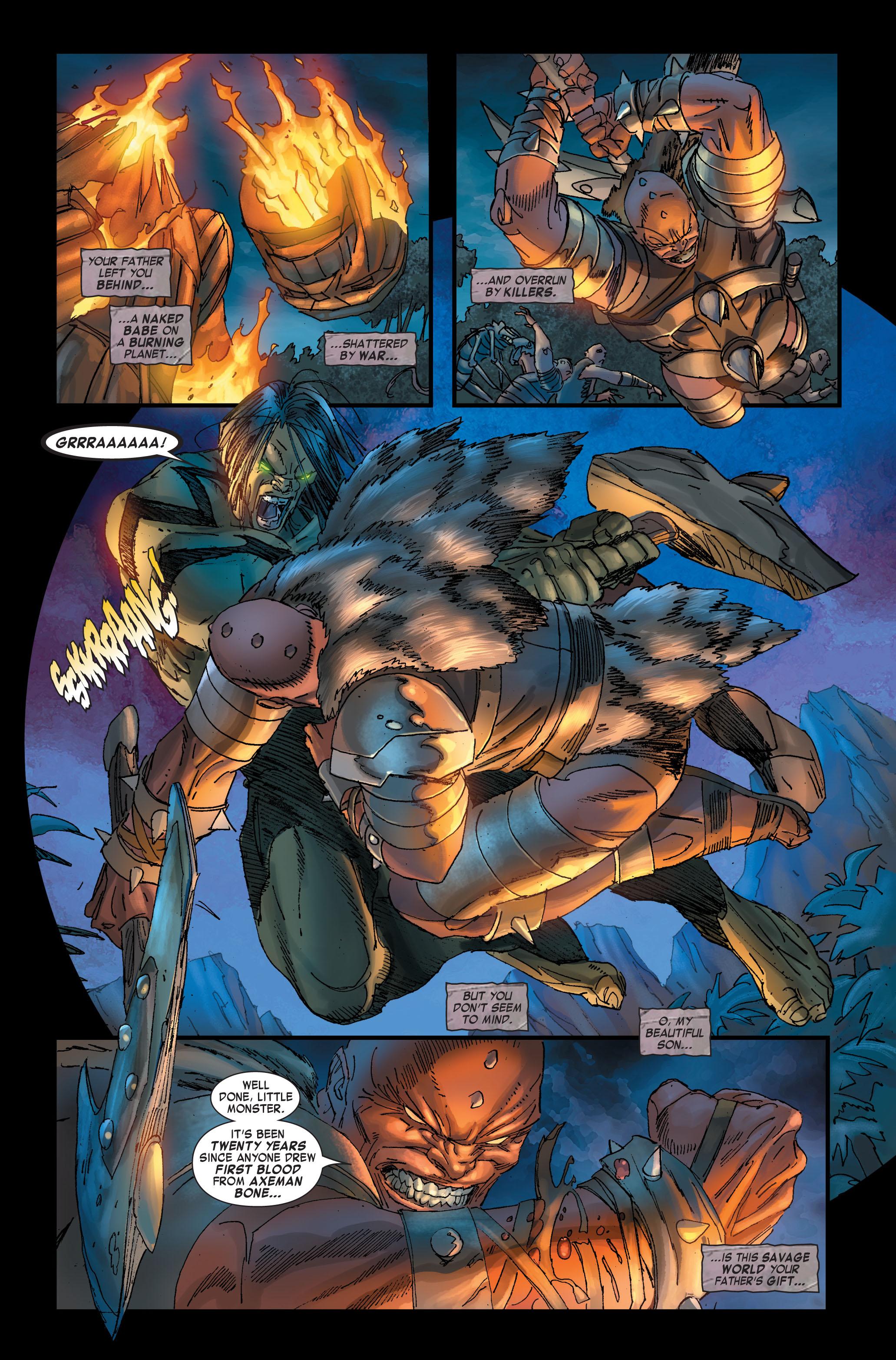 Read online Skaar: Son of Hulk comic -  Issue #2 - 3