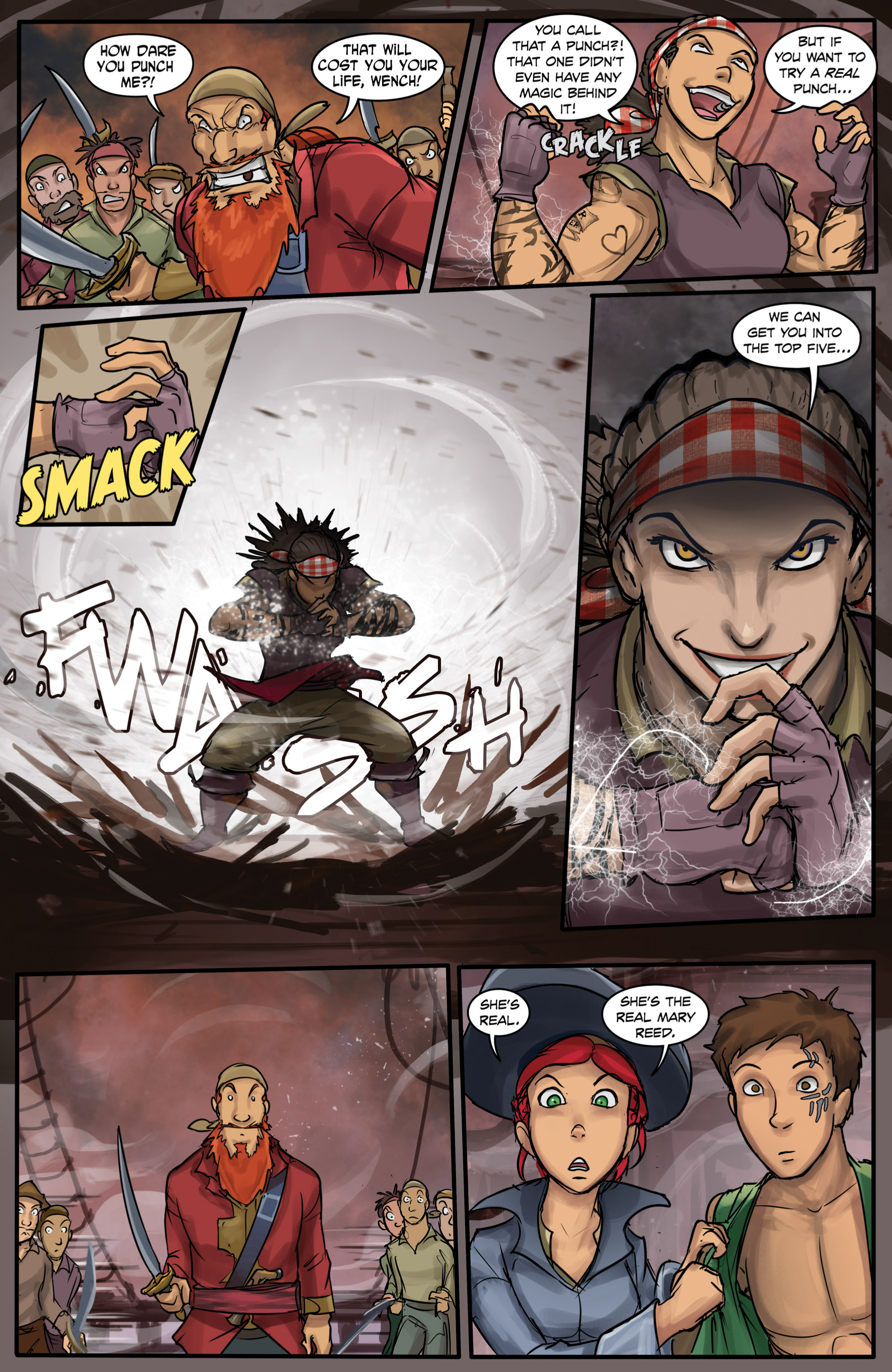 Read online Anne Bonnie comic -  Issue #6 - 21