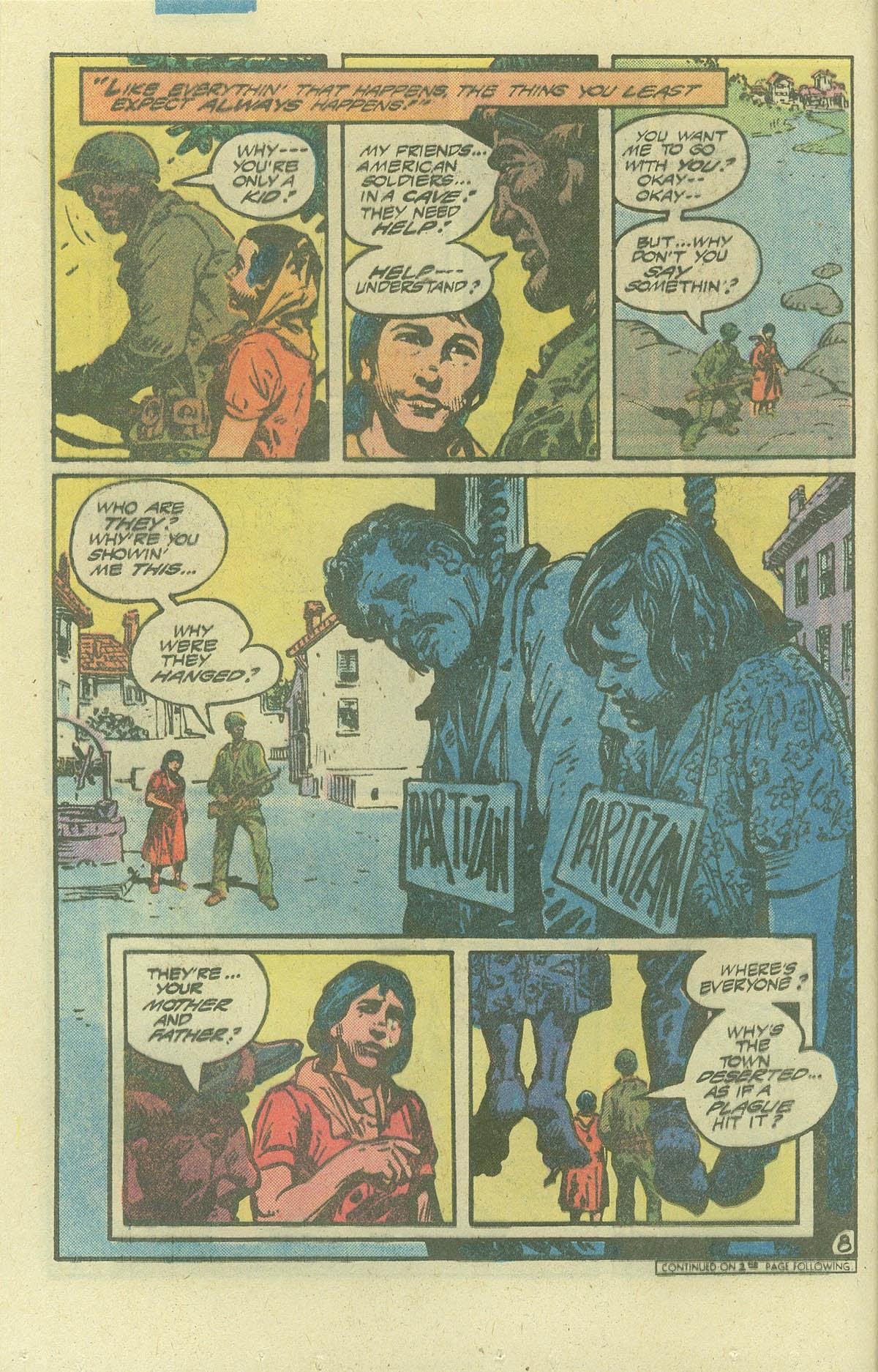Read online Sgt. Rock comic -  Issue #386 - 8