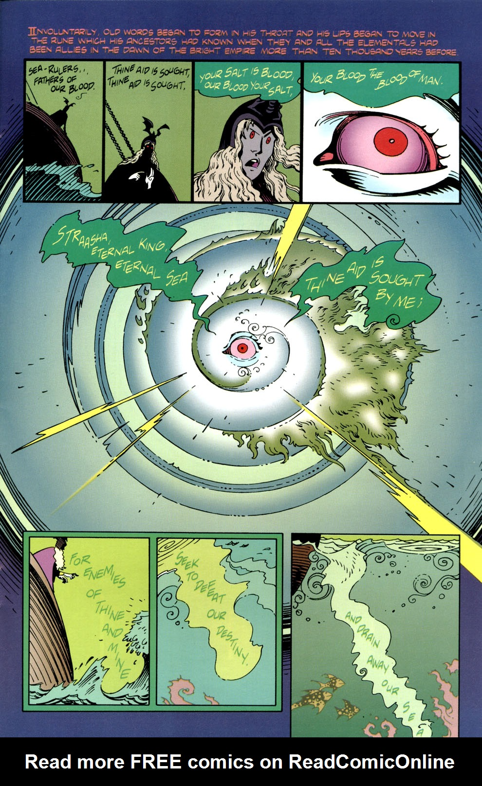 Read online Elric: Stormbringer comic -  Issue #4 - 25