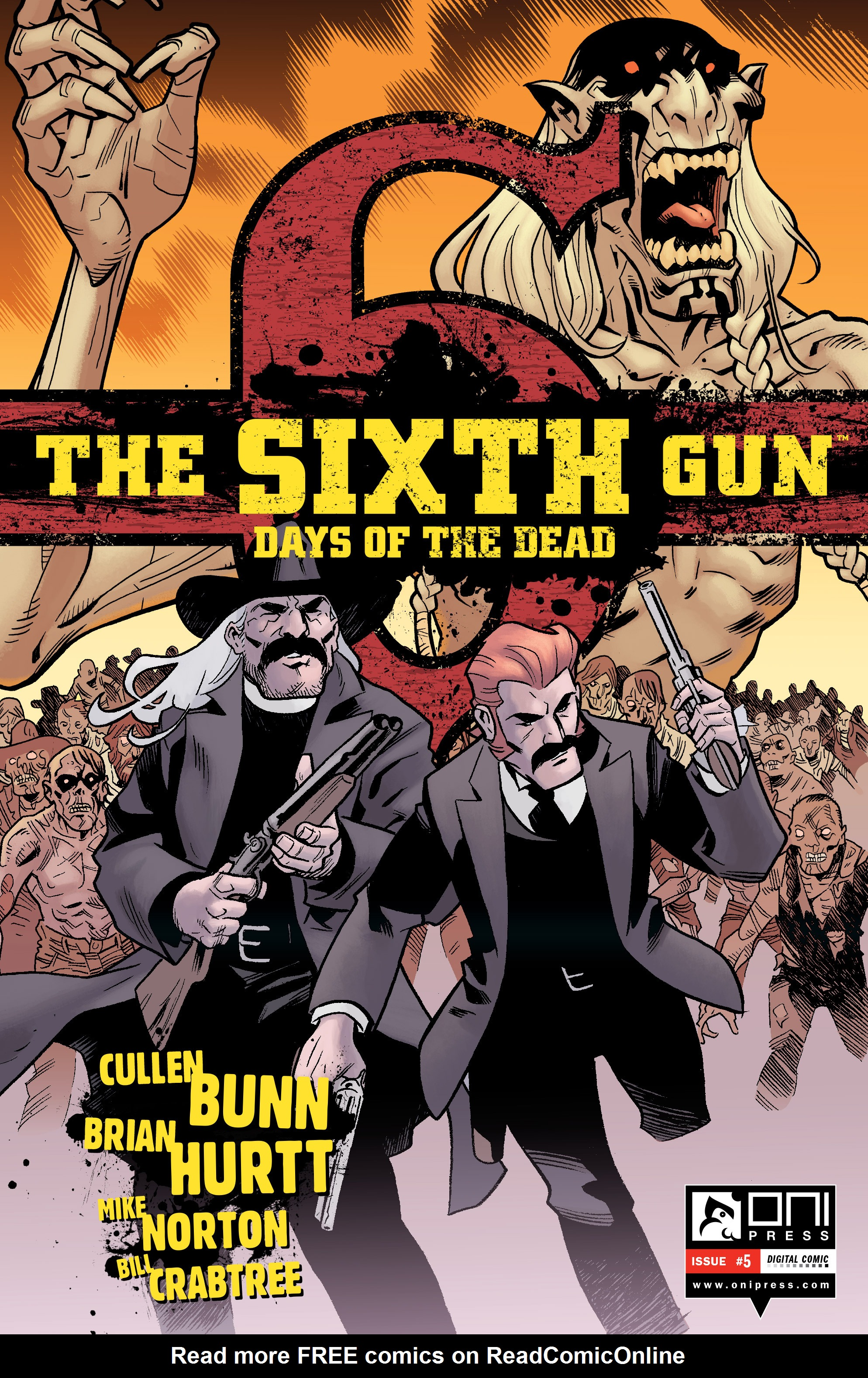 The Sixth Gun: Days of the Dead 5 Page 1