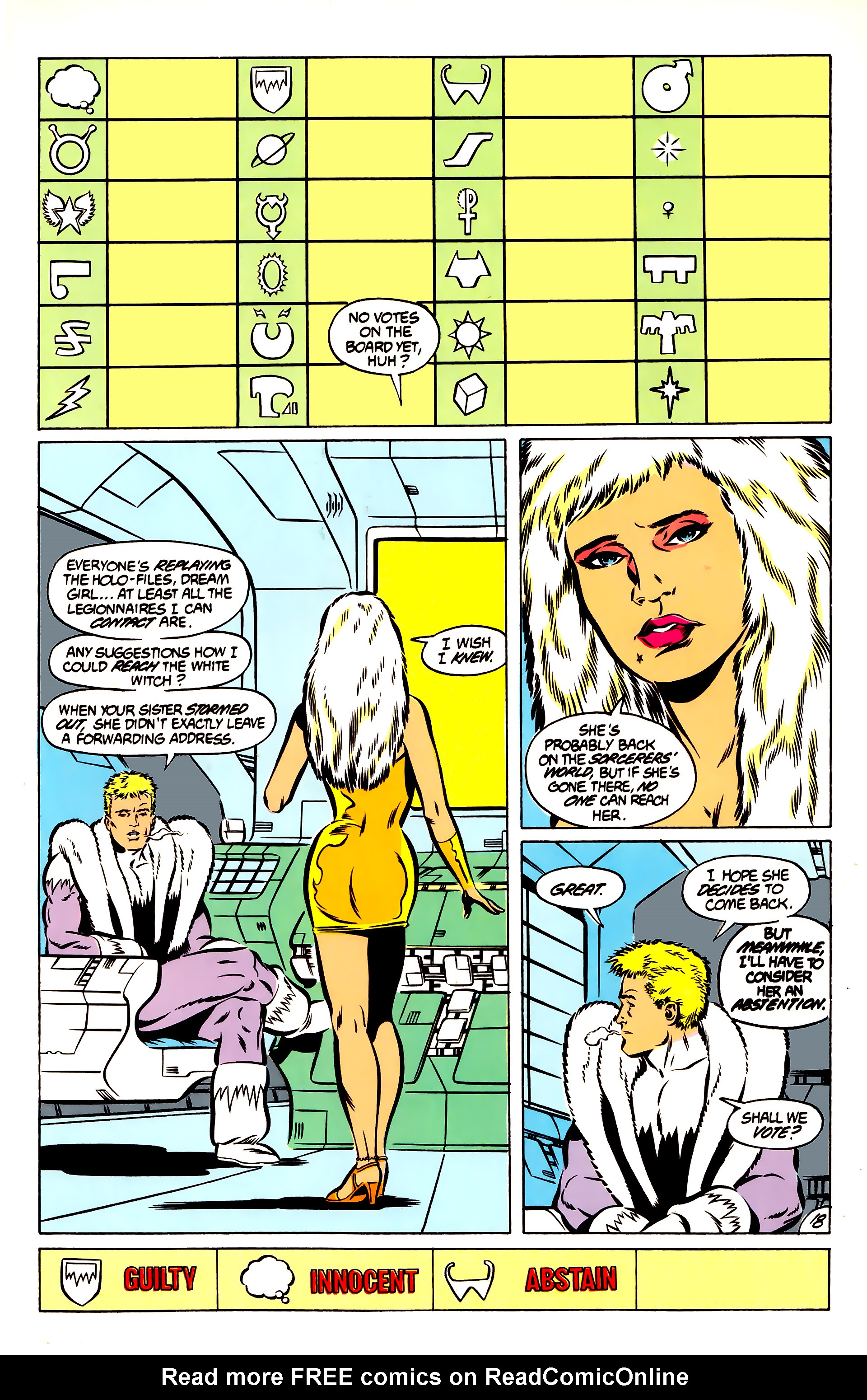 Legion of Super-Heroes (1984) 51 Page 18