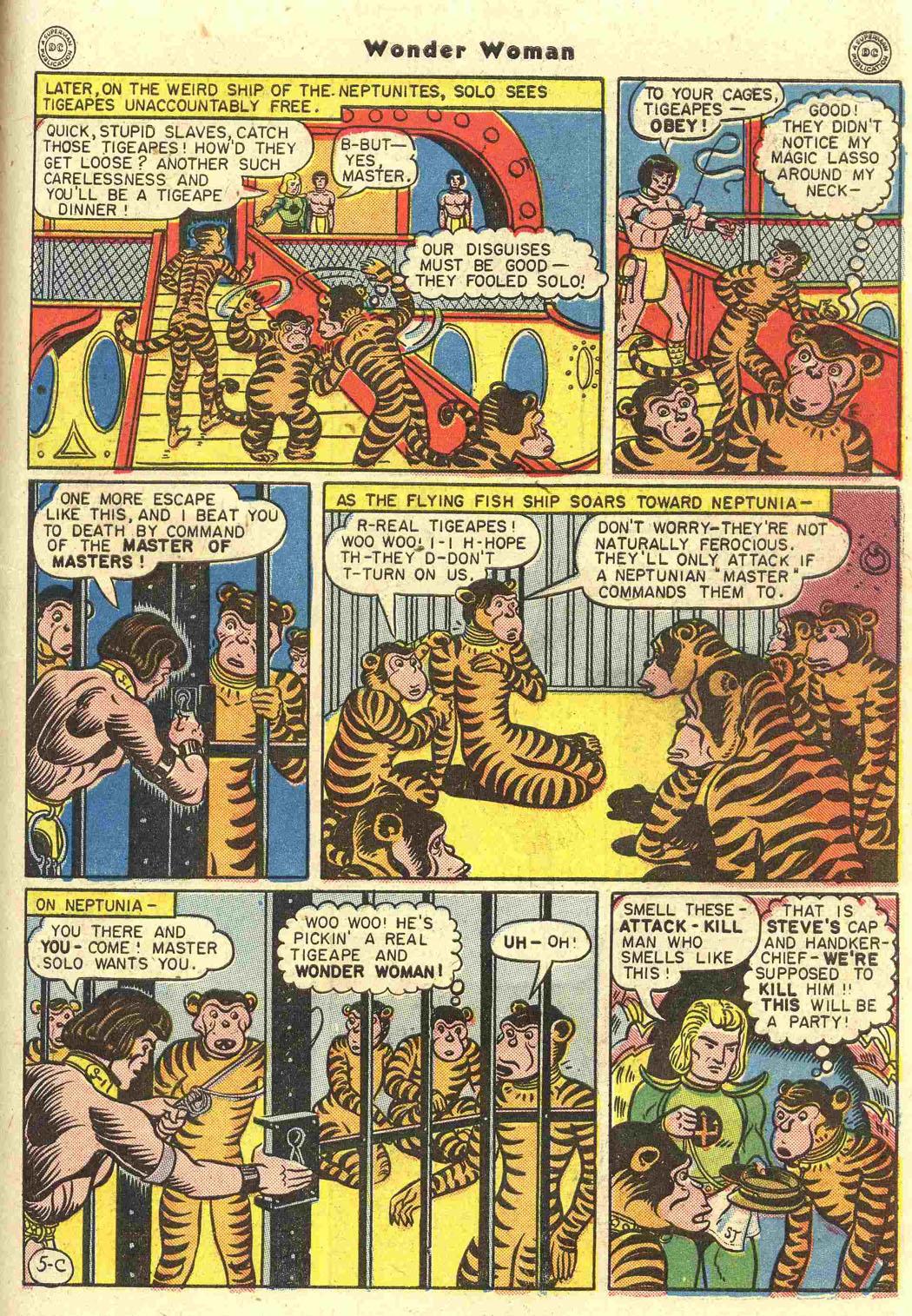 Read online Wonder Woman (1942) comic -  Issue #15 - 39
