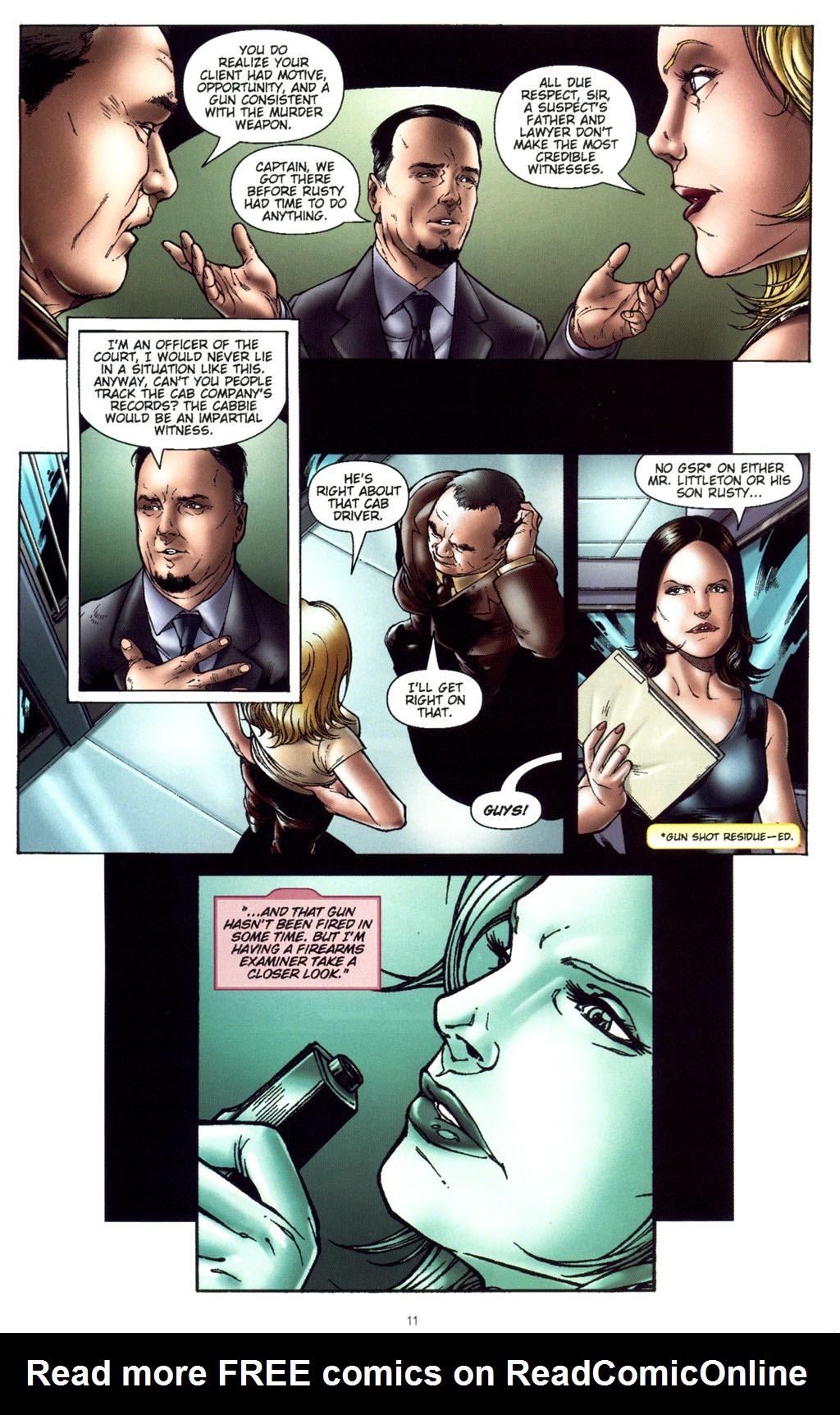 Read online CSI: Crime Scene Investigation: Bad Rap comic -  Issue #5 - 14