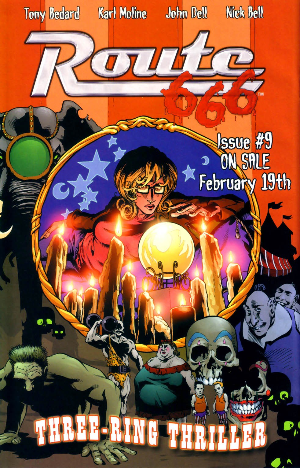 Read online Route 666 comic -  Issue #8 - 27