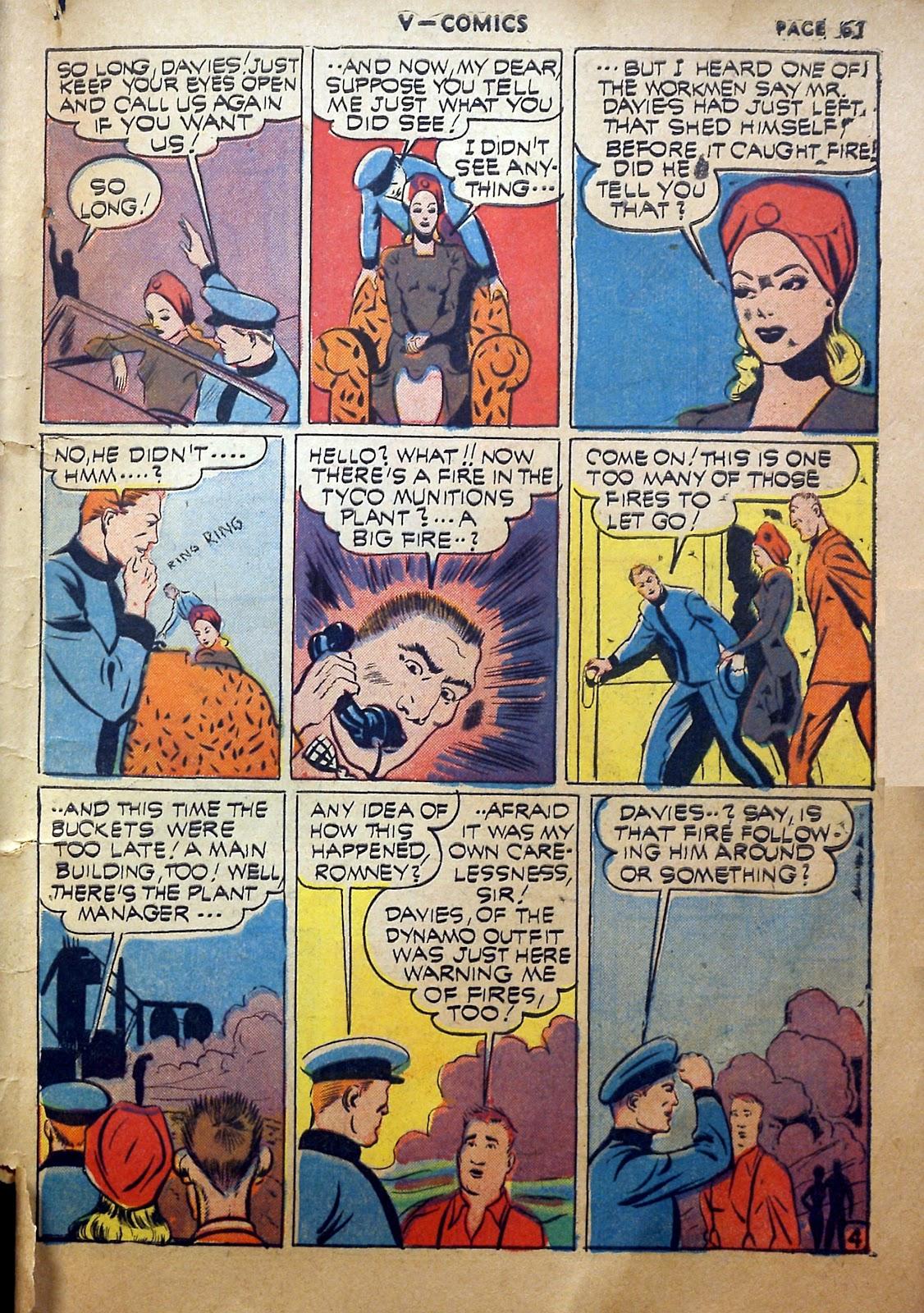 Read online V...- Comics comic -  Issue #2 - 62
