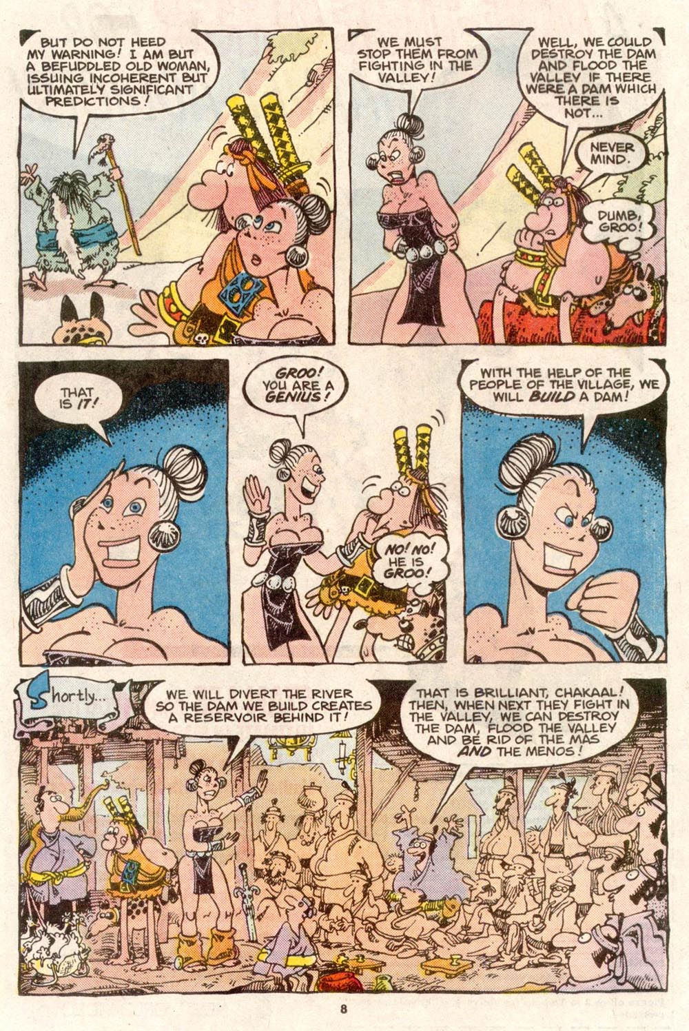 Read online Sergio Aragonés Groo the Wanderer comic -  Issue #51 - 8