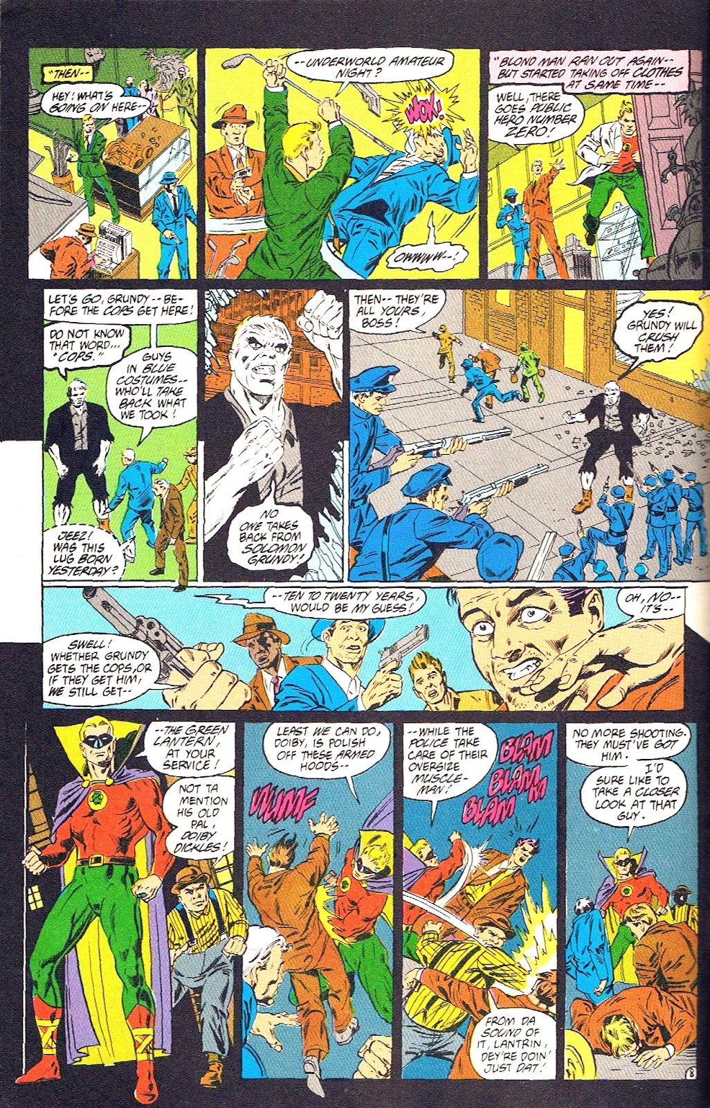Infinity Inc. (1984) issue 39 - Page 10