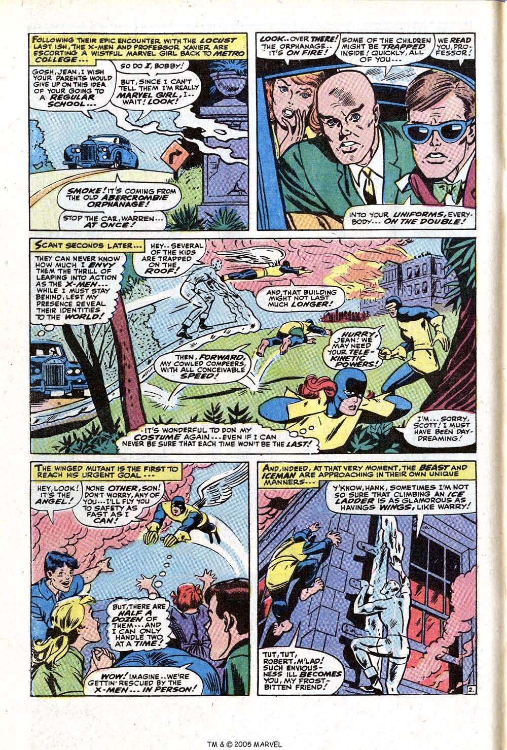 Read online Uncanny X-Men (1963) comic -  Issue #73 - 4