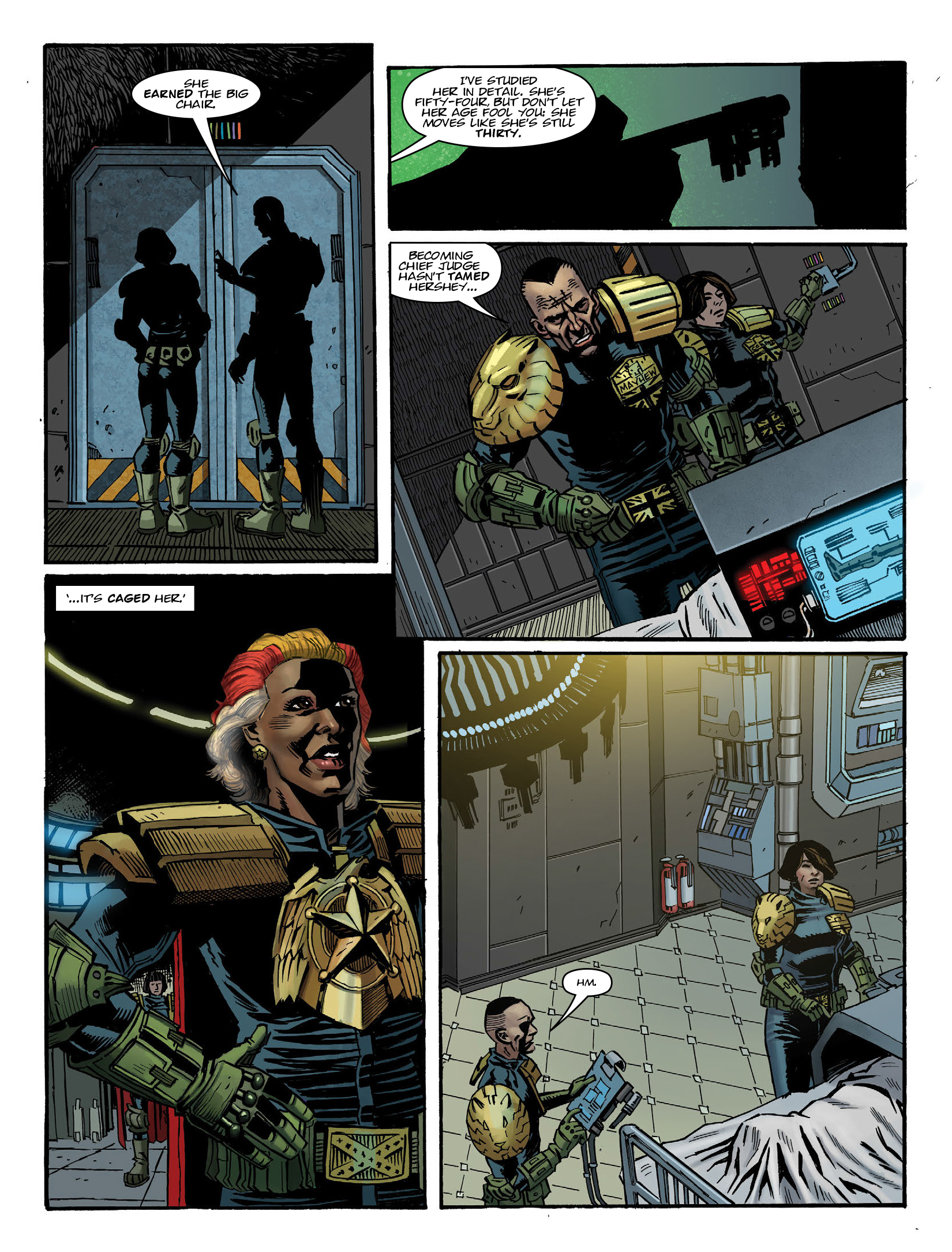 Read online 2000 AD comic -  Issue #1980 - 7