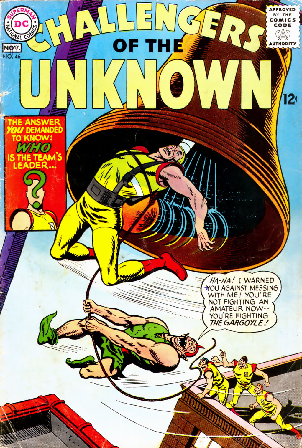 Challengers of the Unknown (1958) 46 Page 1