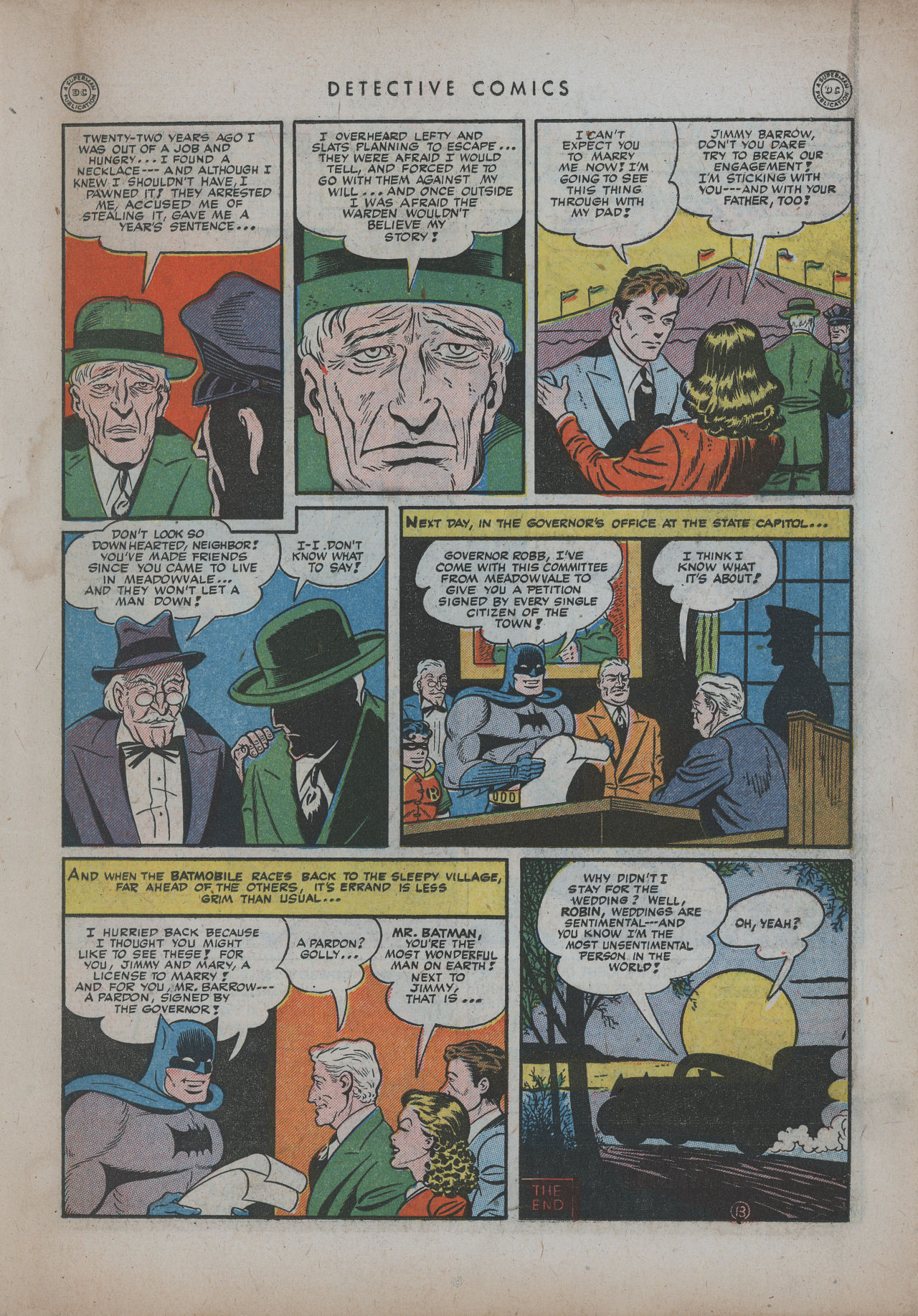 Read online Detective Comics (1937) comic -  Issue #94 - 15
