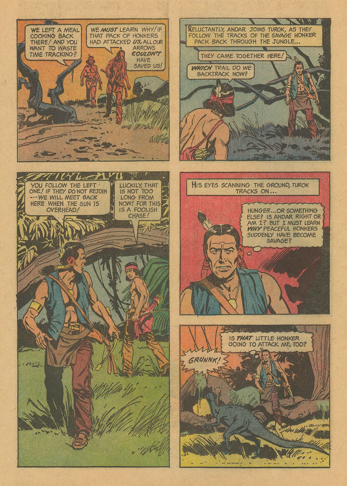 Read online Turok, Son of Stone comic -  Issue #38 - 26