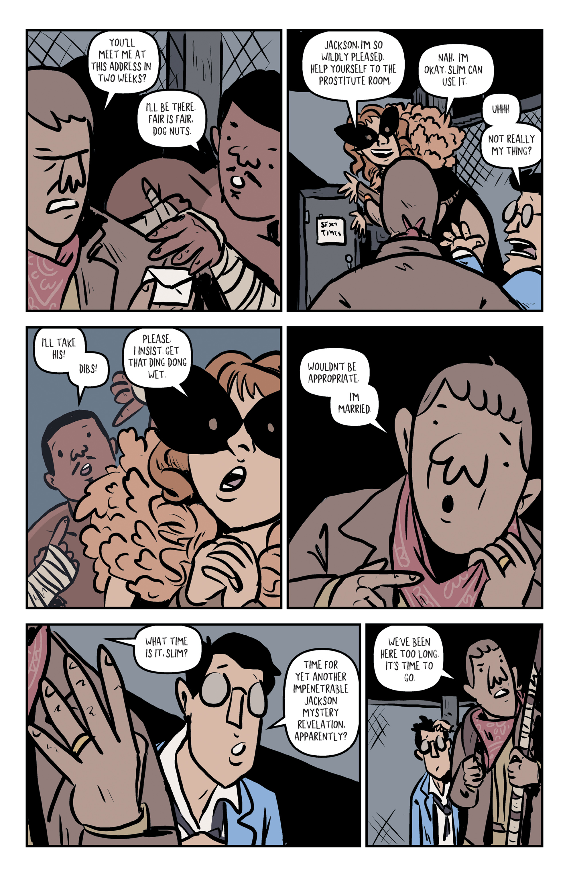 Read online Rock Candy Mountain comic -  Issue #2 - 23