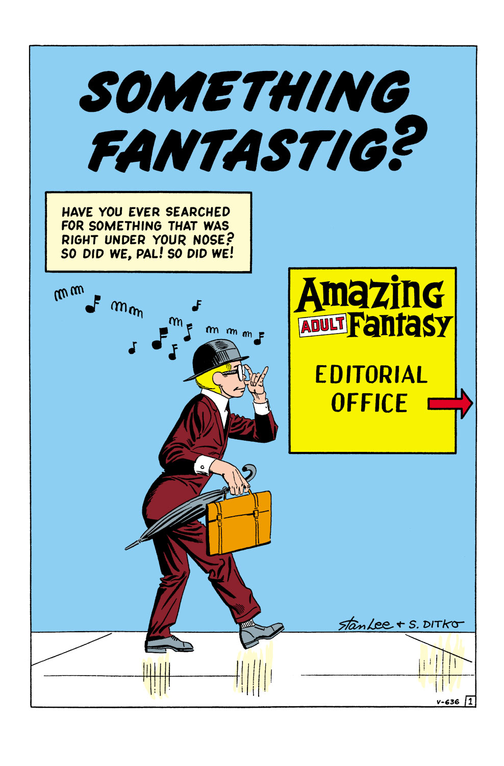 Read online Amazing Adult Fantasy comic -  Issue #12 - 13