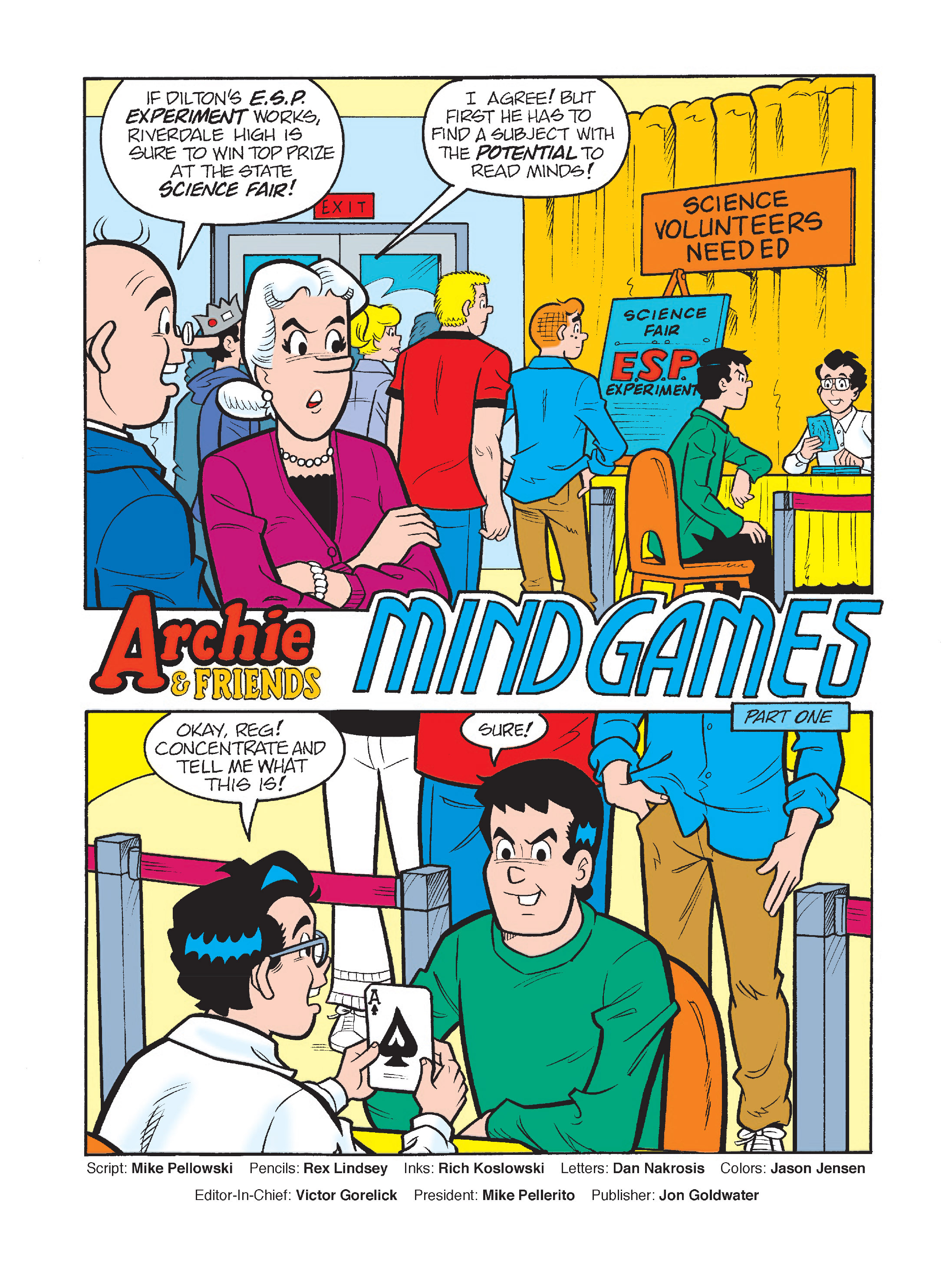 Read online Archie's Funhouse Double Digest comic -  Issue #2 - 2