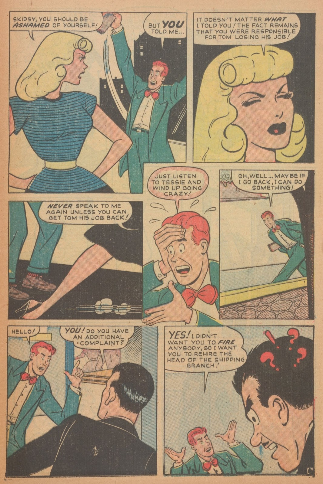 Read online Nellie The Nurse (1945) comic -  Issue #18 - 37