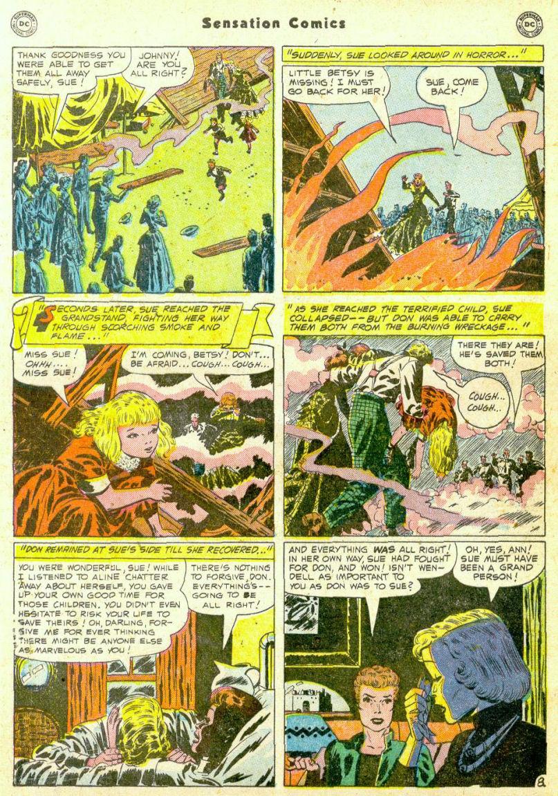 Read online Sensation (Mystery) Comics comic -  Issue #98 - 46
