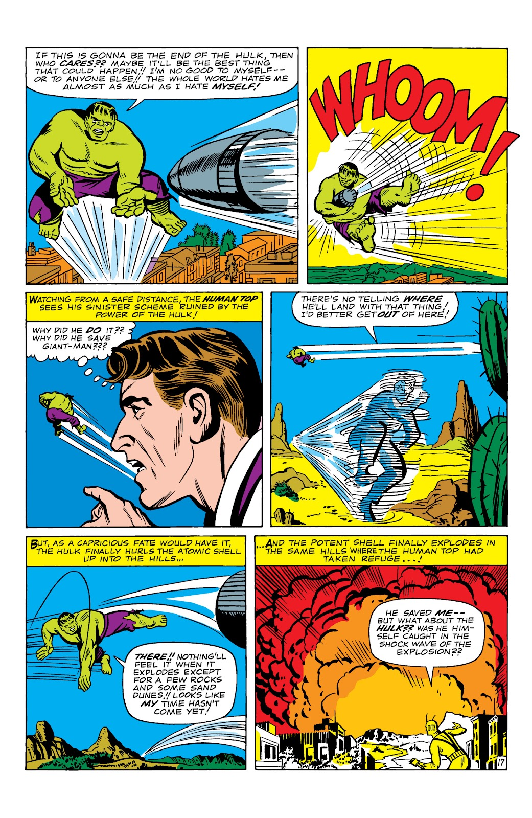 Read online Marvel Masterworks: The Incredible Hulk comic -  Issue # TPB 2 (Part 1) - 20