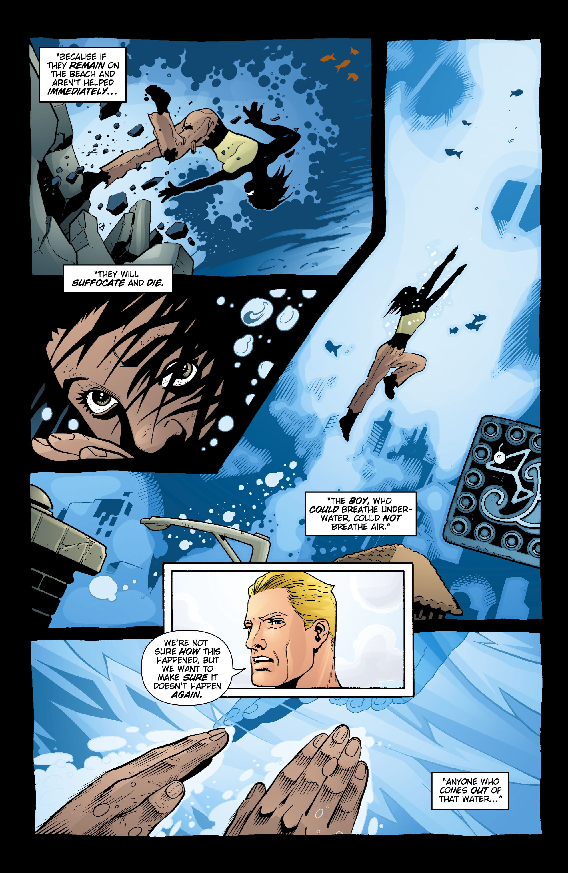 Read online Aquaman (2003) comic -  Issue #16 - 5
